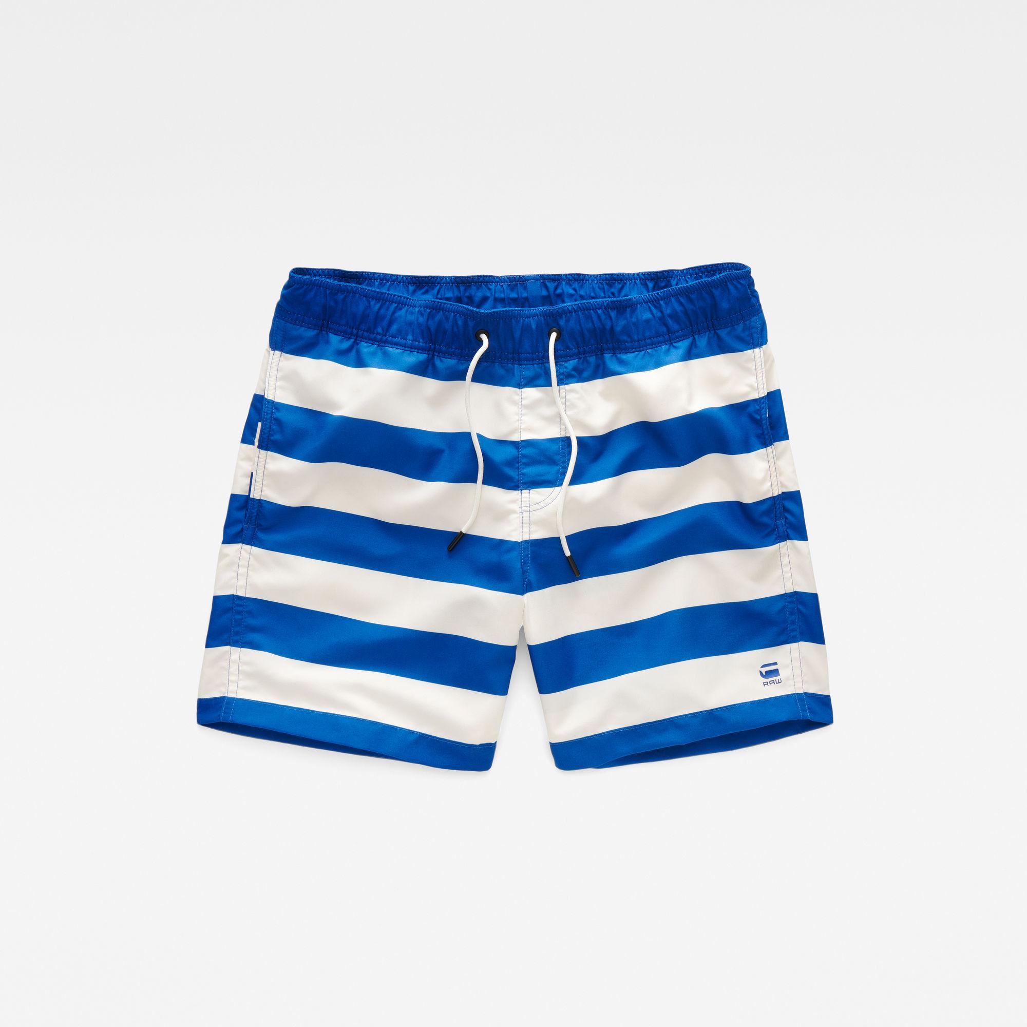 Dirik Stripe Swim Shorts
