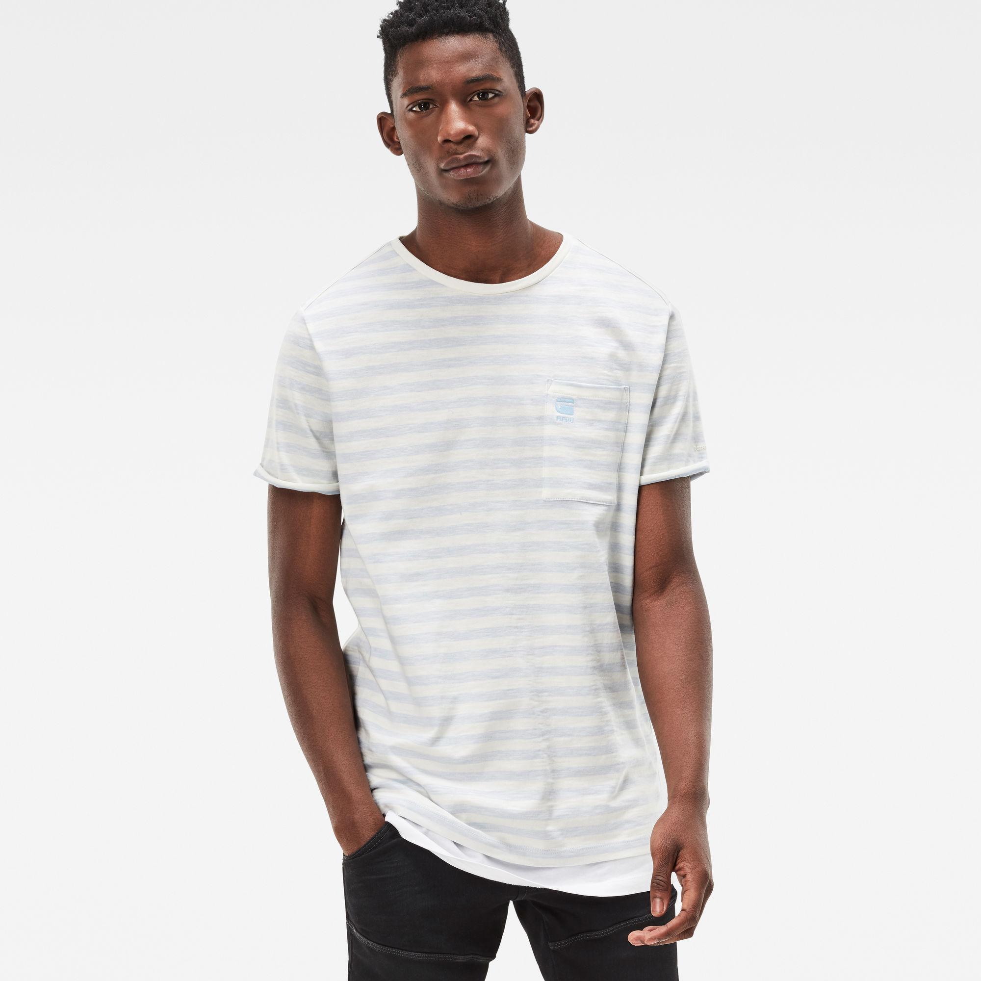 Phaen-S Stripe Pocket T-Shirt