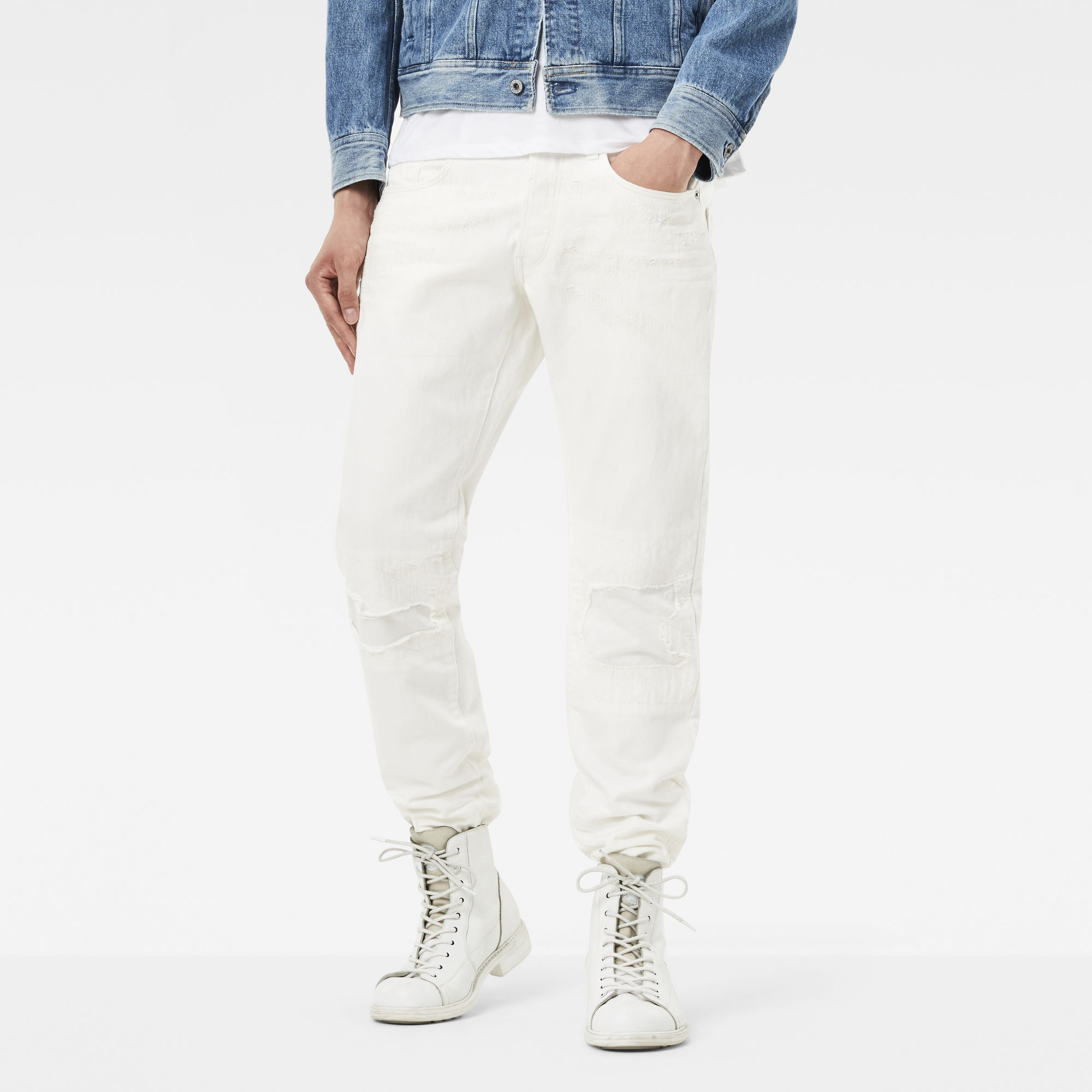 3301 Moto-Restored Tapered Jeans