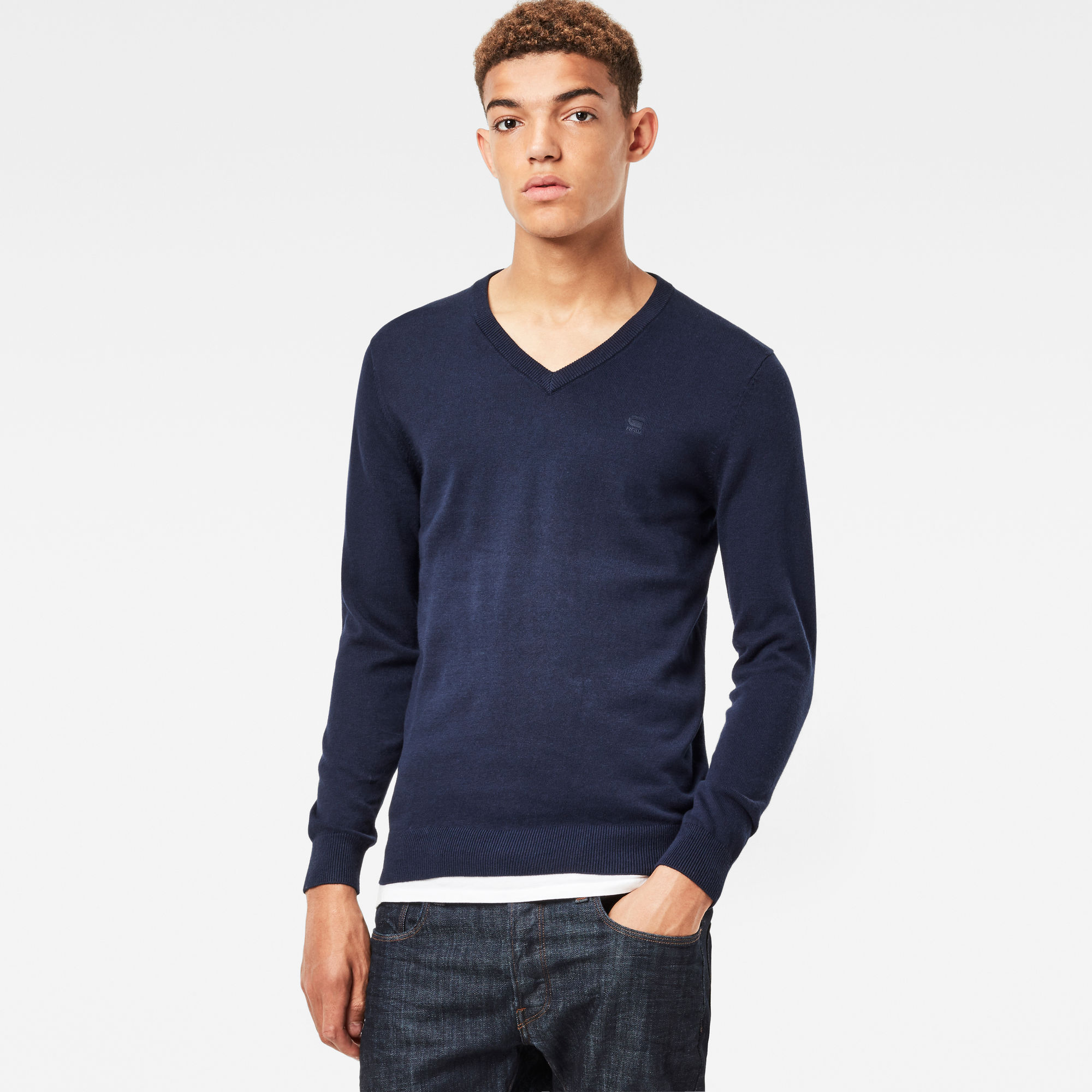 Core V-Neck Knit