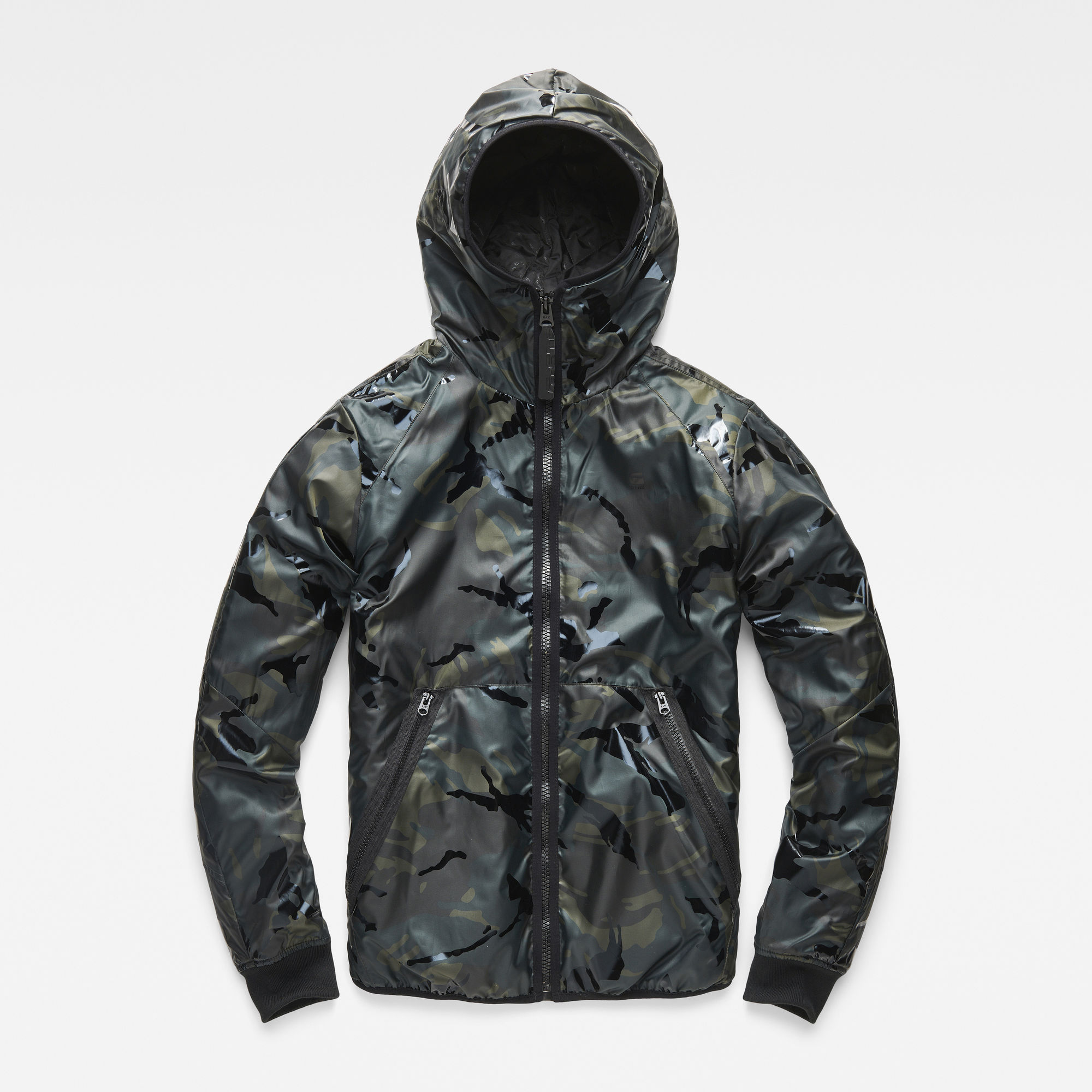 Strett Padded Hooded Overshirt
