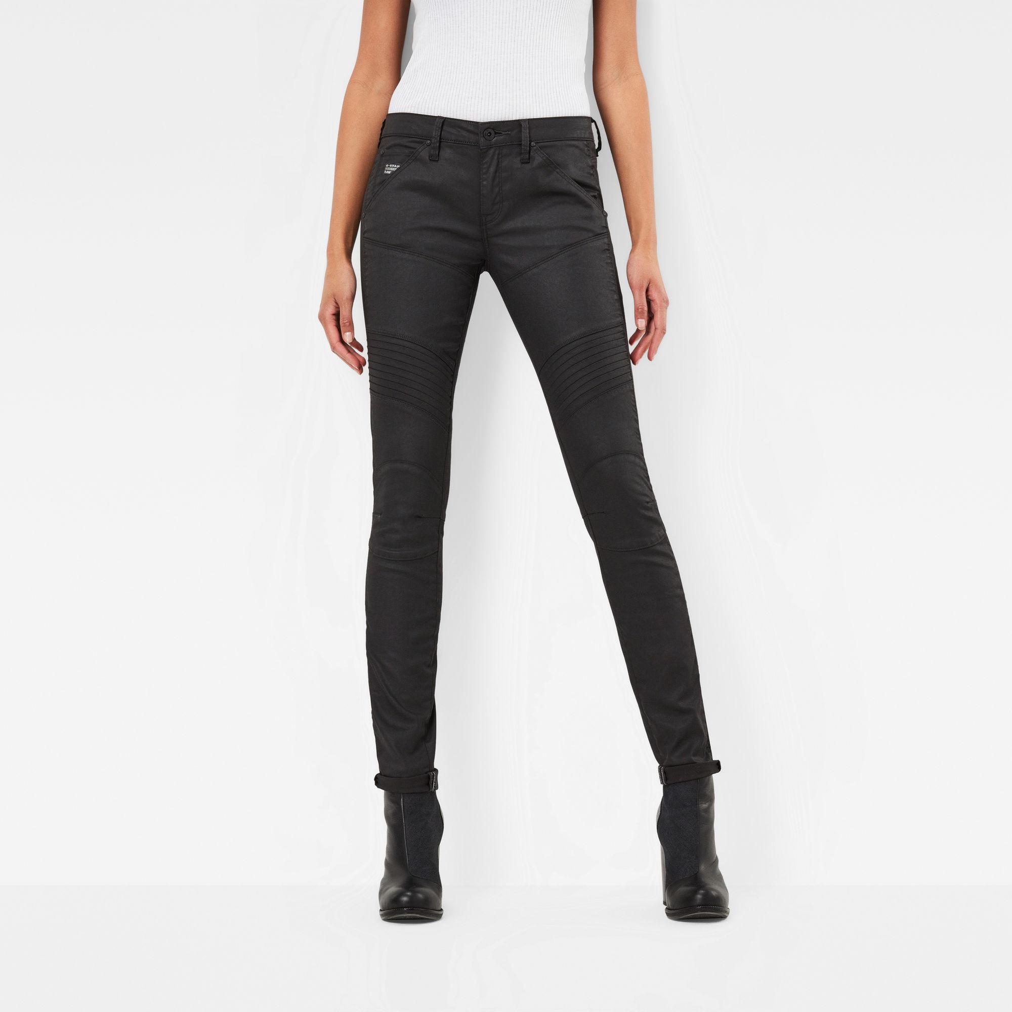 Image of G Star Raw 5620 Custom Mid Skinny Jeans