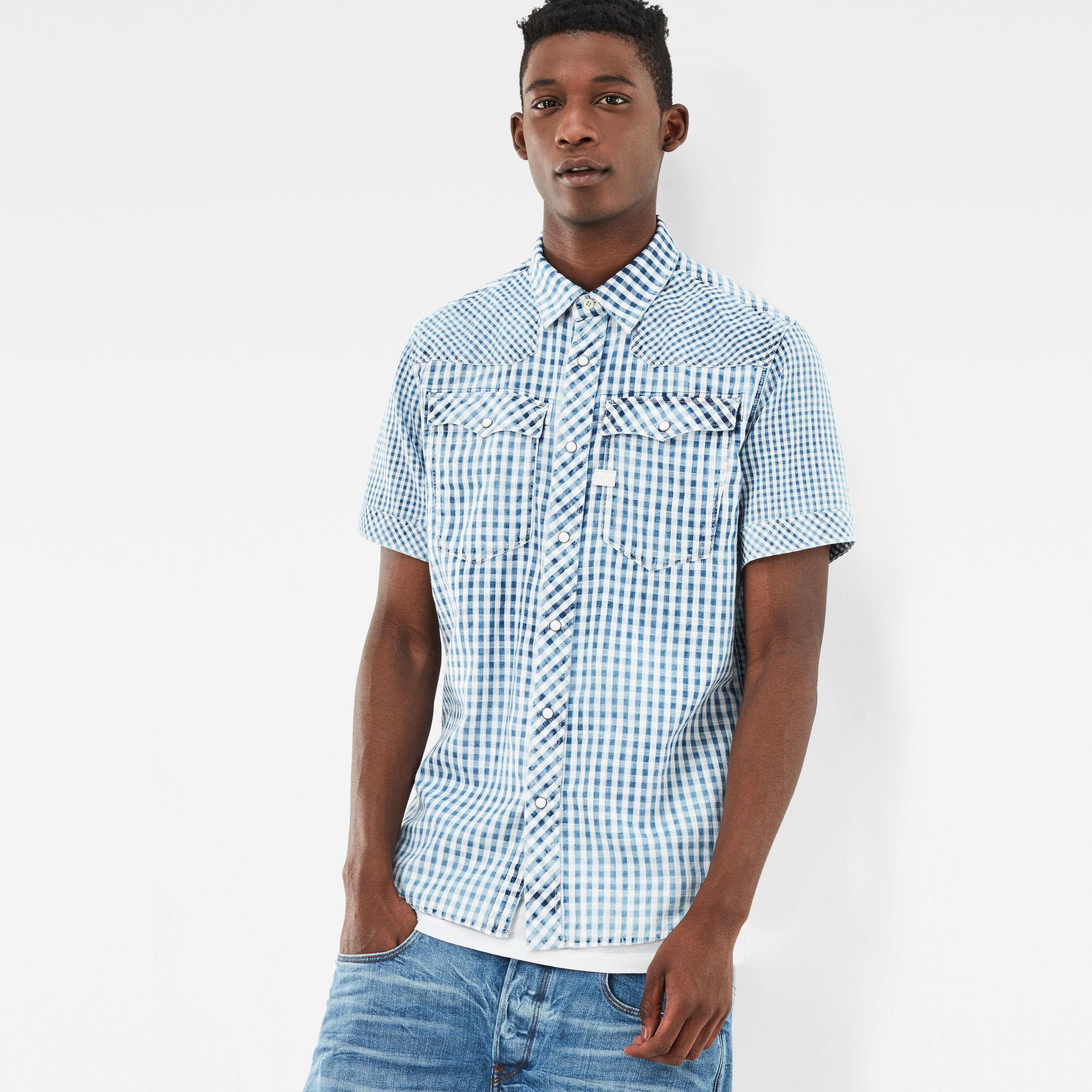 3301 Pattern-Mix Shirt