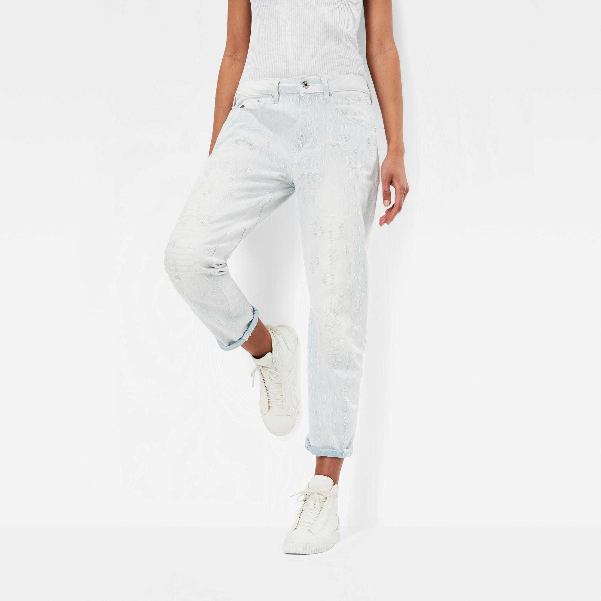 Arc 3D Mid Waist Boyfriend 7 8 Jeans