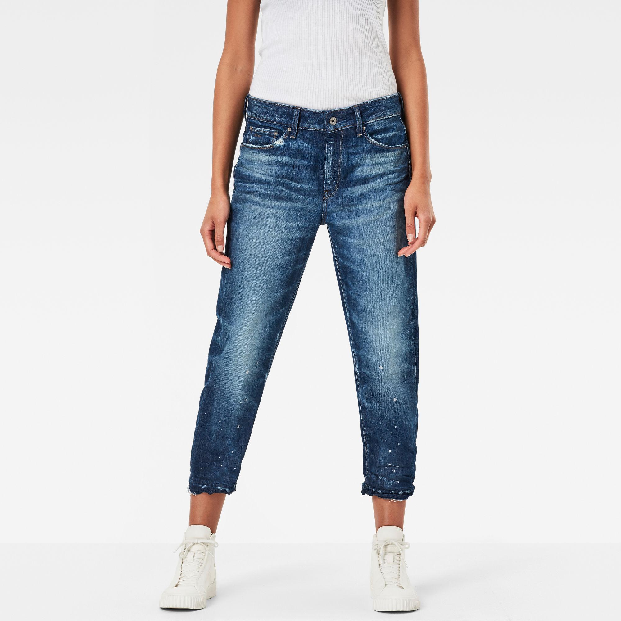 3301 Mid Waist Boyfriend RP 7 8 Jeans