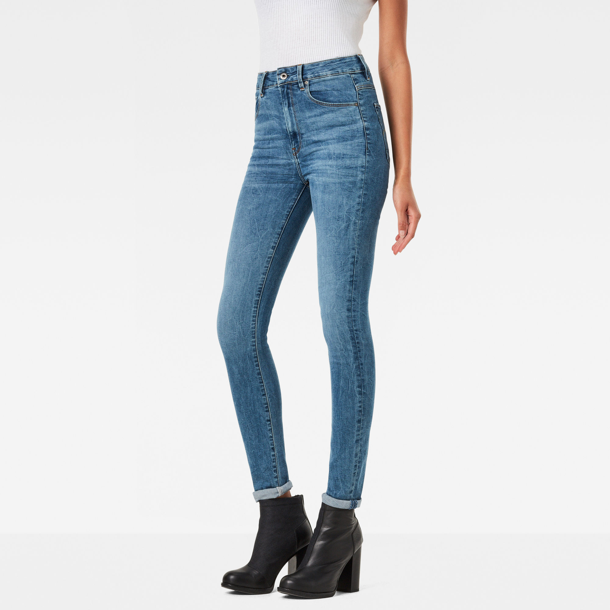 3301 Ultra High Waist Skinny Jeans