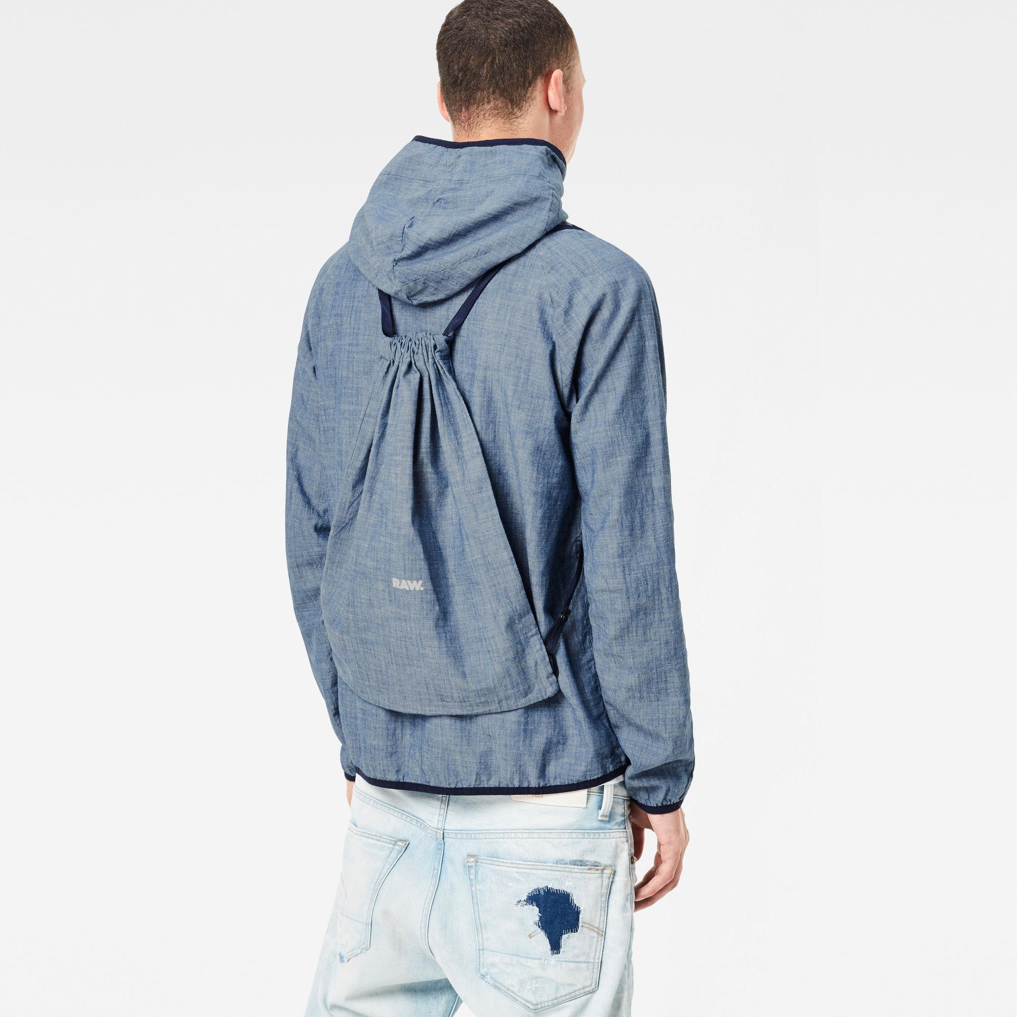 Strett Hooded Gym-Bag Jacket