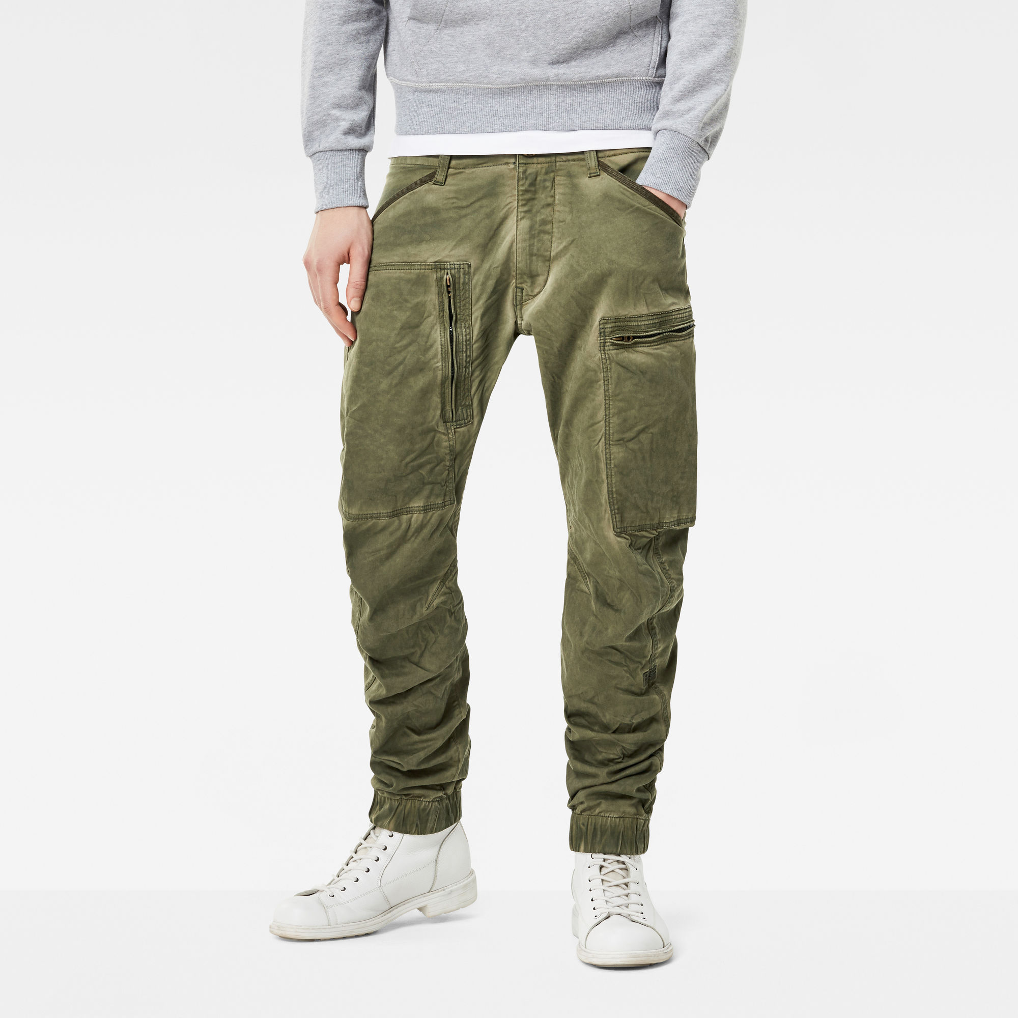 Image of G Star Raw Powel 3D Tapered Cuffed Cargo Pants