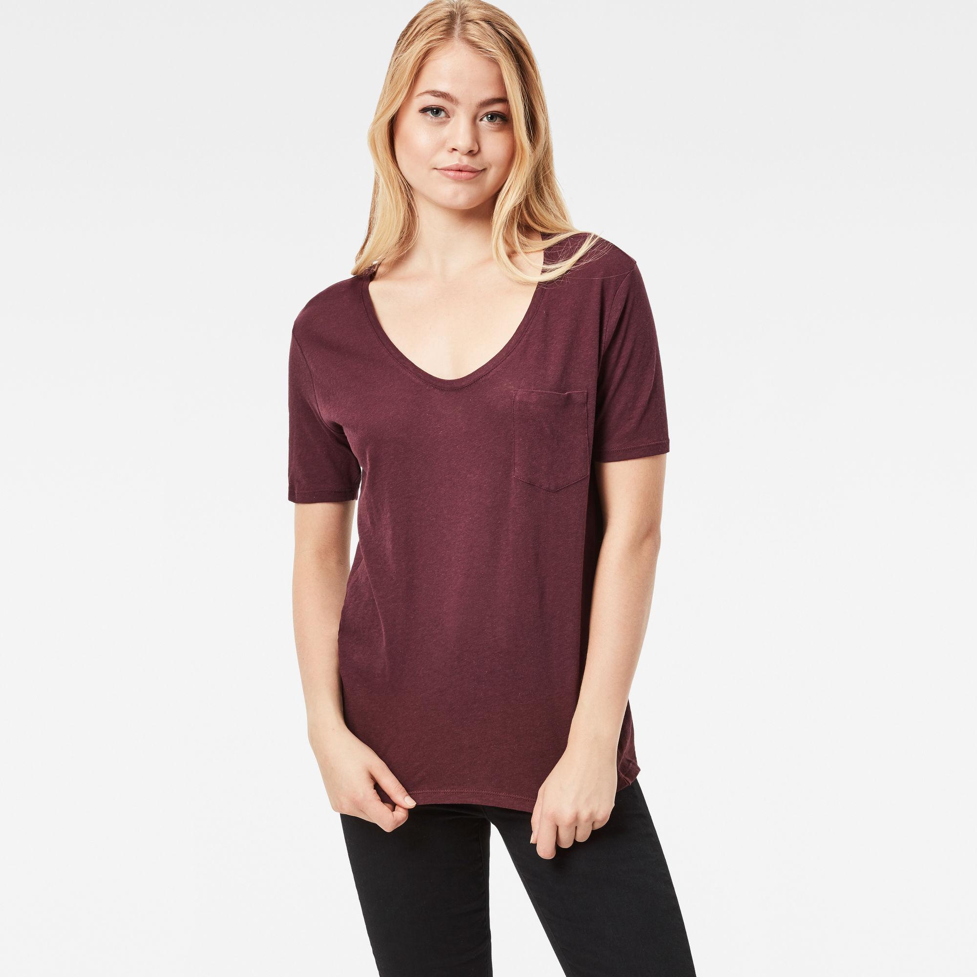 Adisyon Straight Deep-V T-Shirt