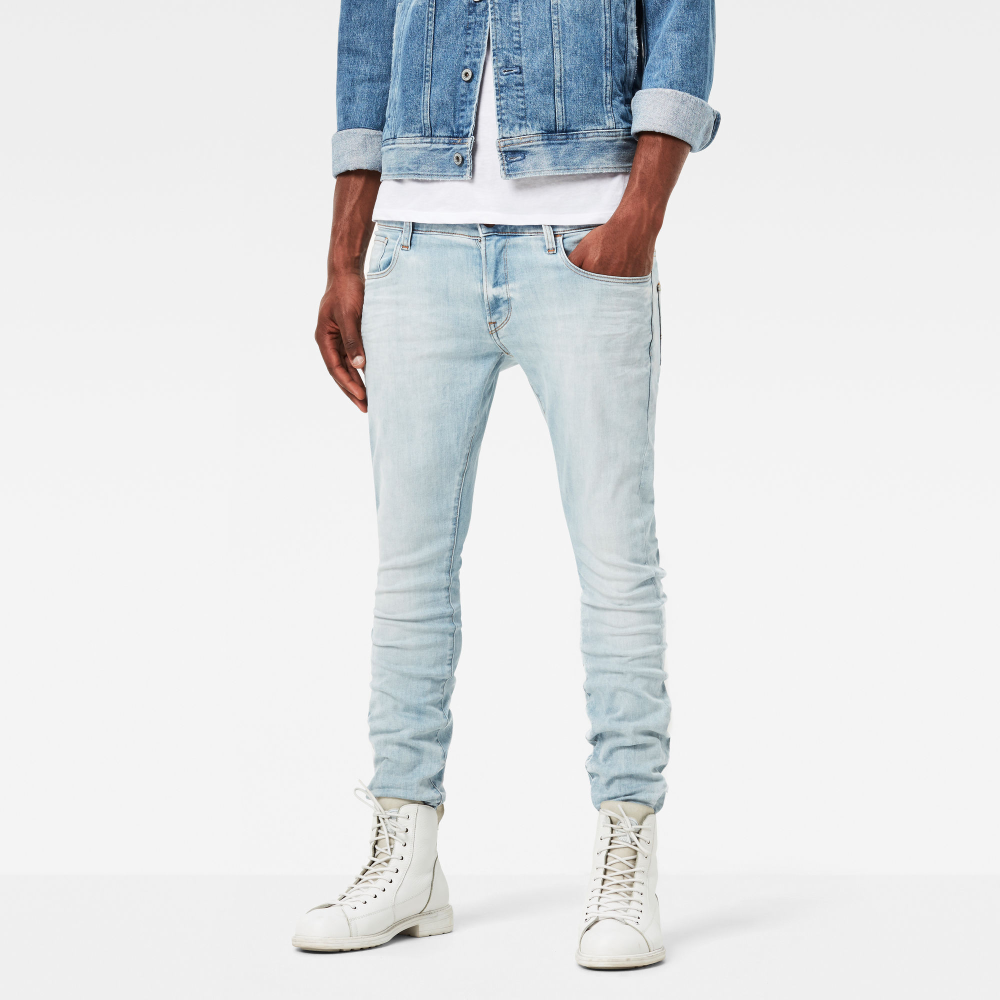 Image of G Star Raw 3301 Super Slim Jeans