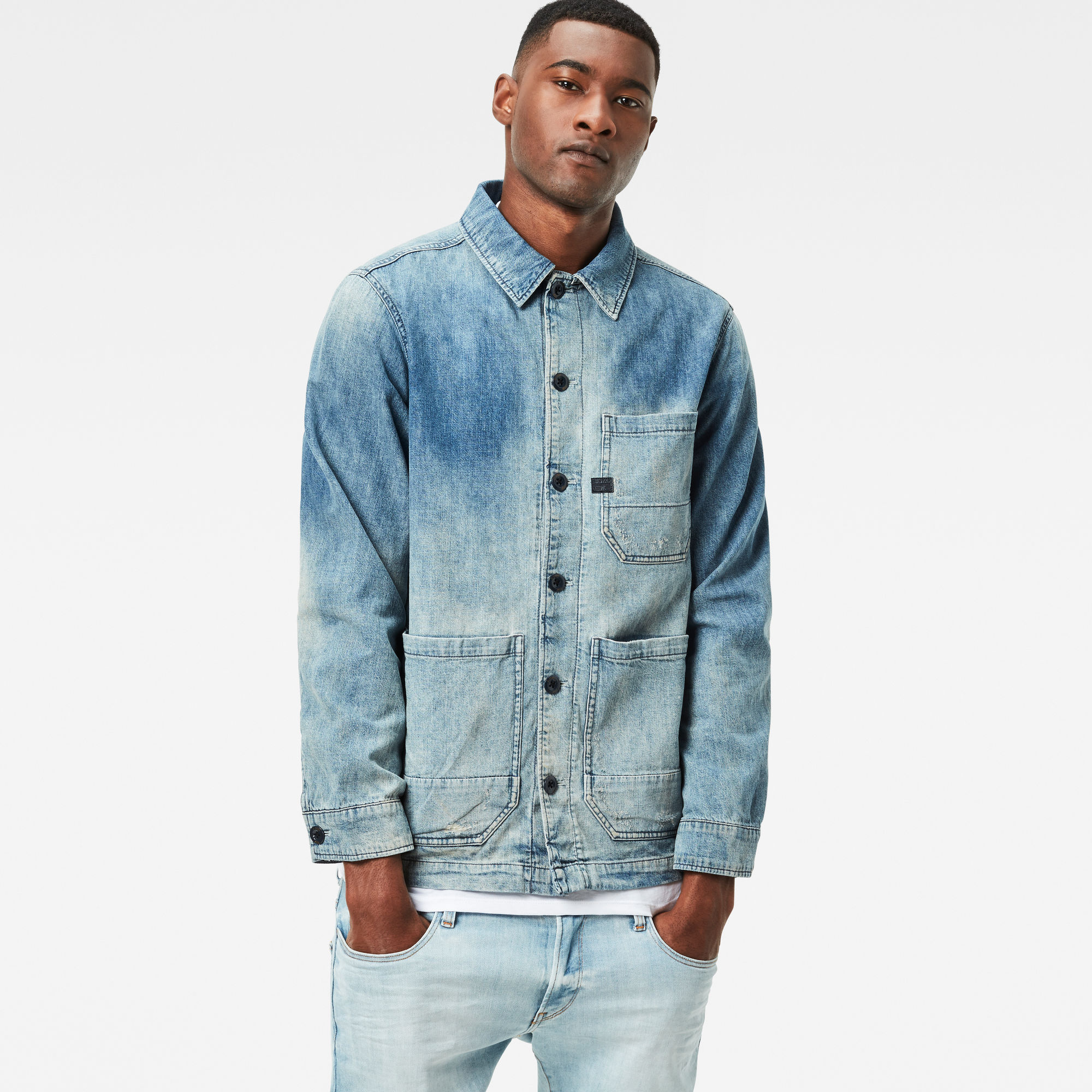 Image of G Star Raw Blake Overshirt
