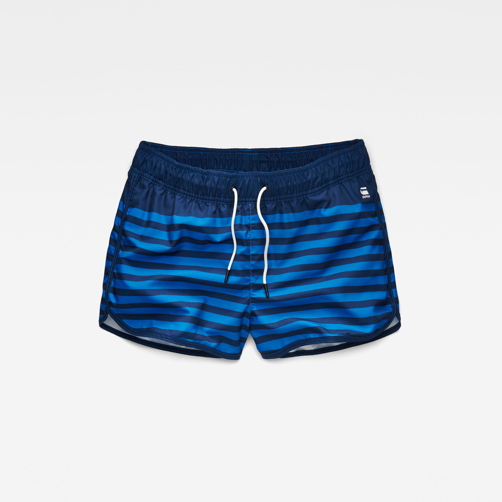 Dend Stripe Swim Shorts