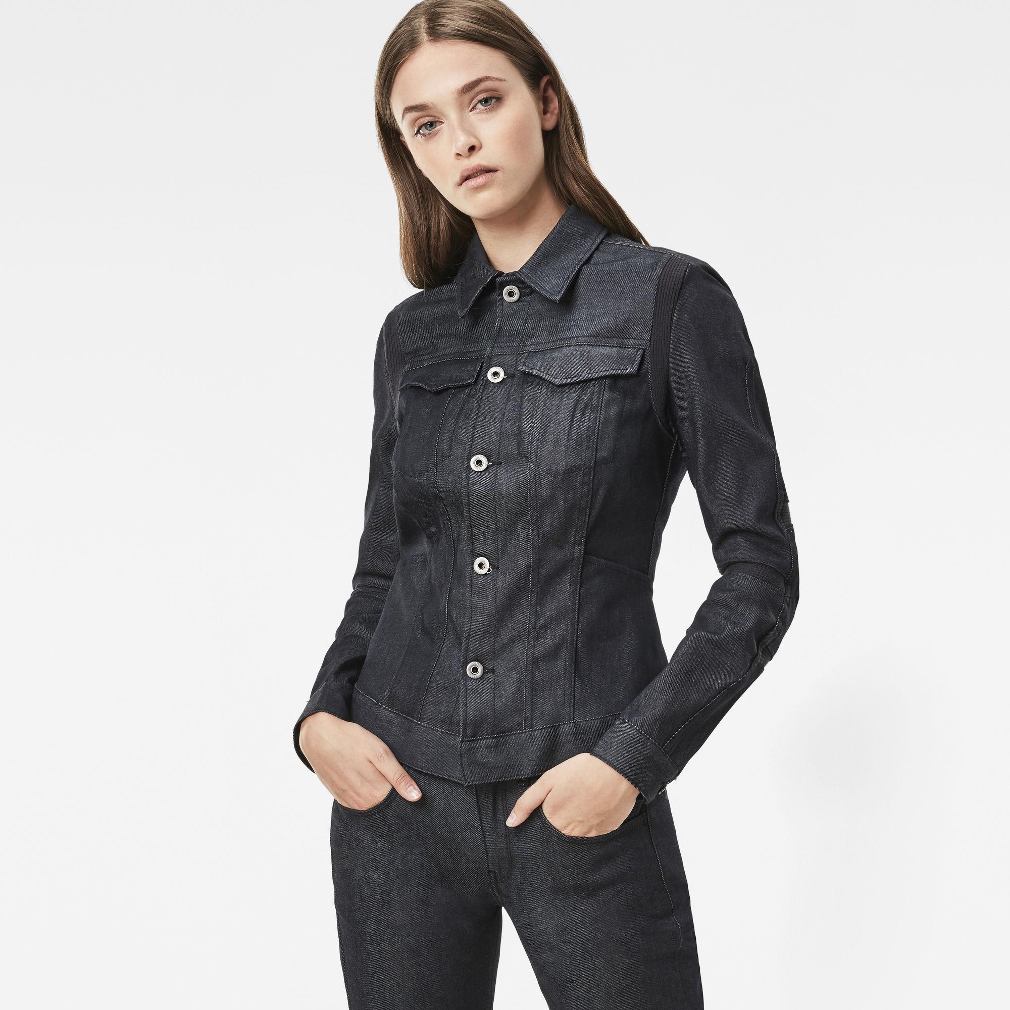 Motac Deconstructed Slim Denim Jacket