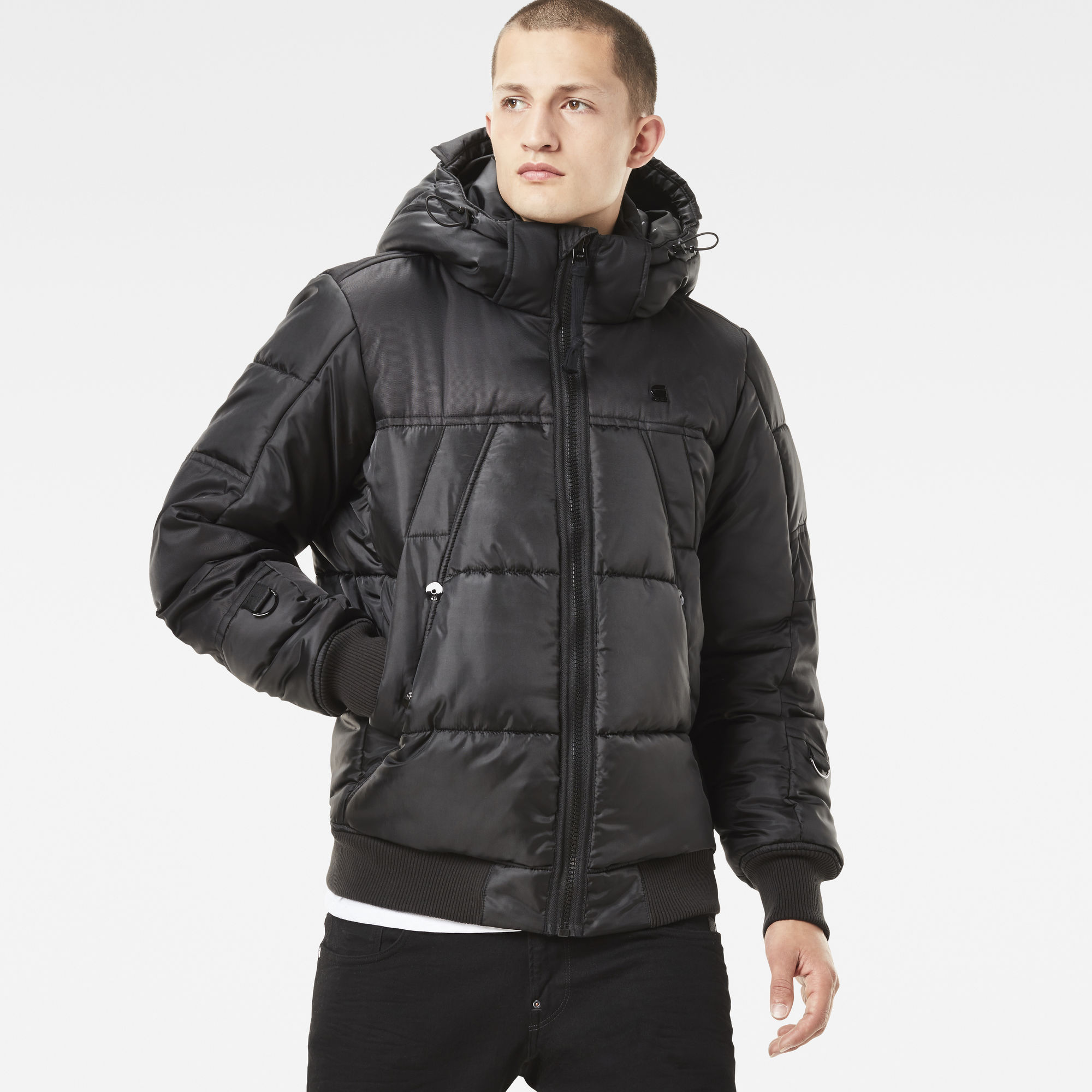 Image of G Star Raw Whistler Hooded Bomber