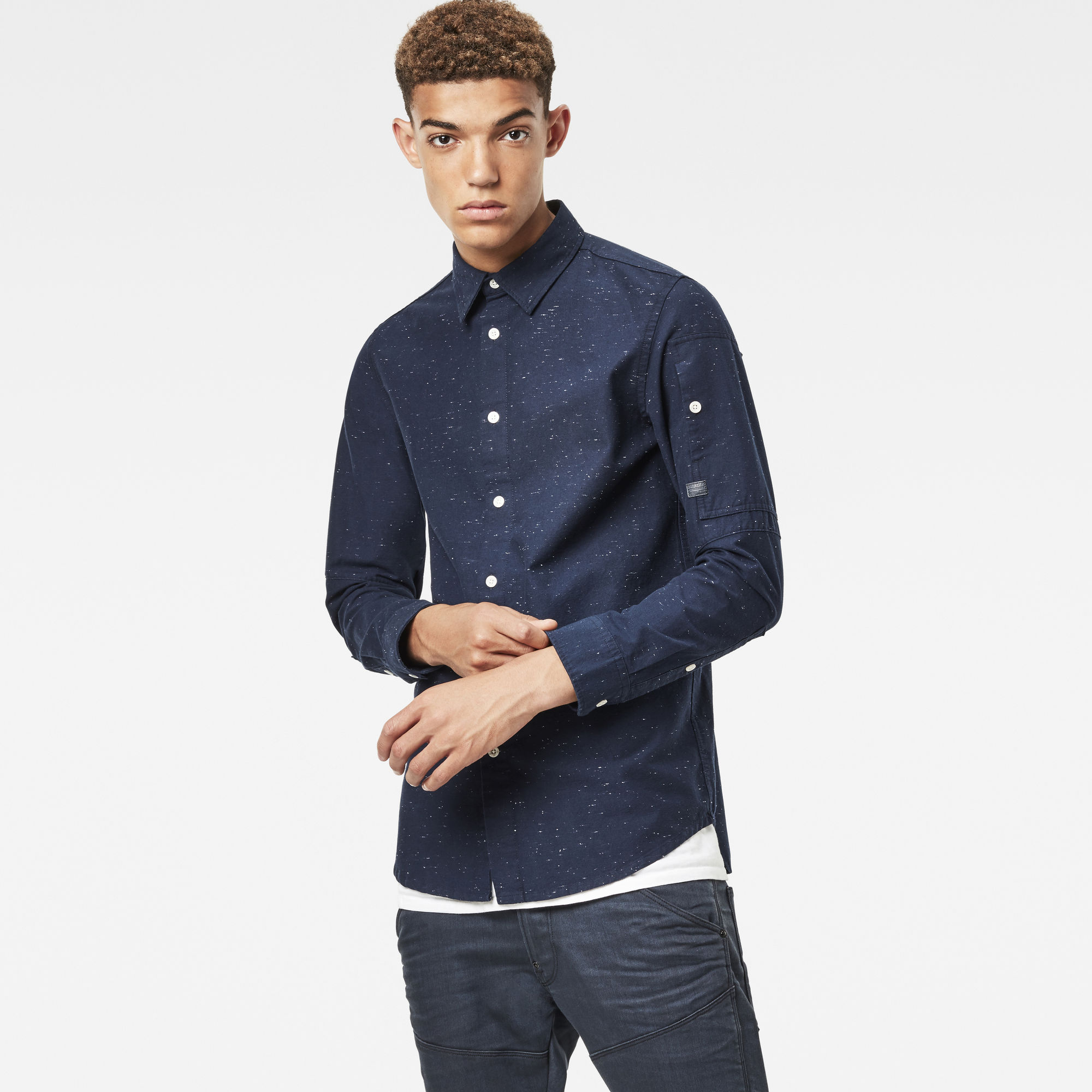Image of G Star Raw Stalt Clean Long Shirt