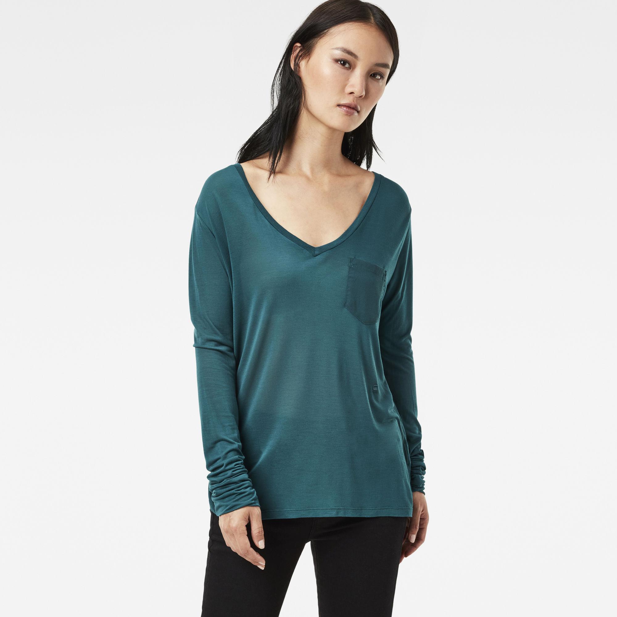 Audnya Straight V-Neck T-Shirt