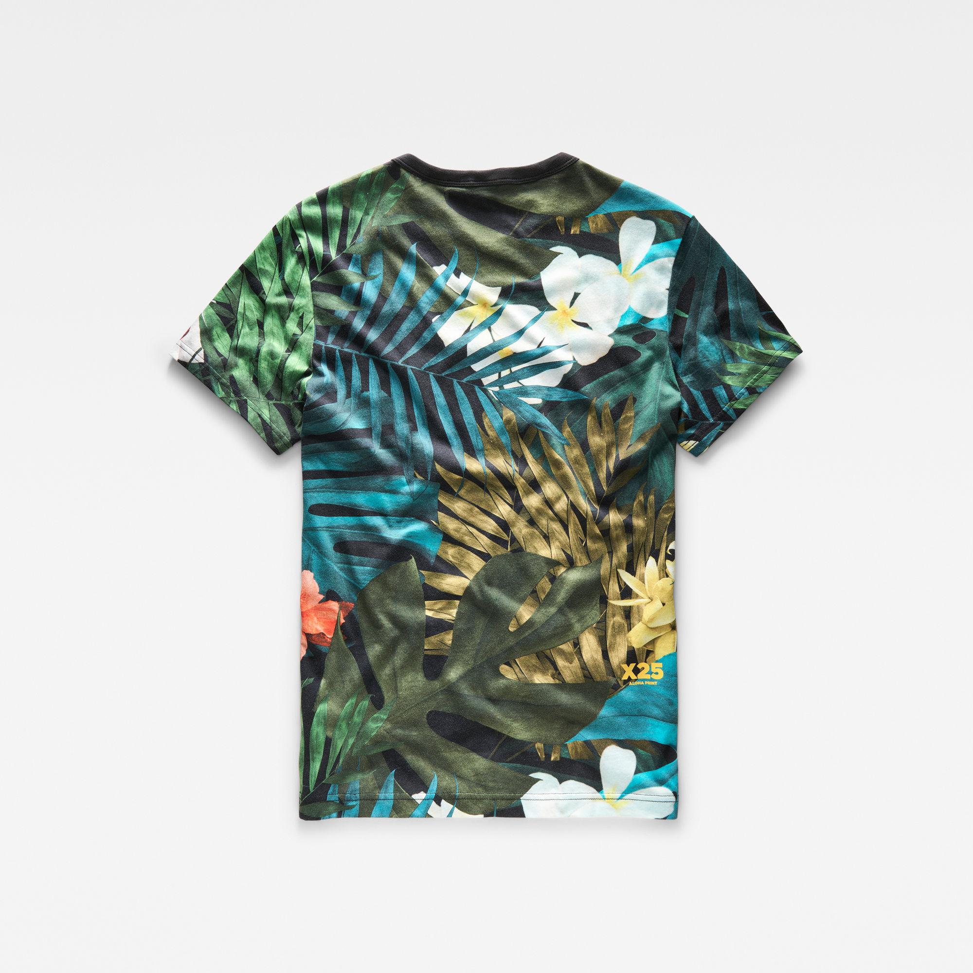 Aloha X25 Print T-Shirt
