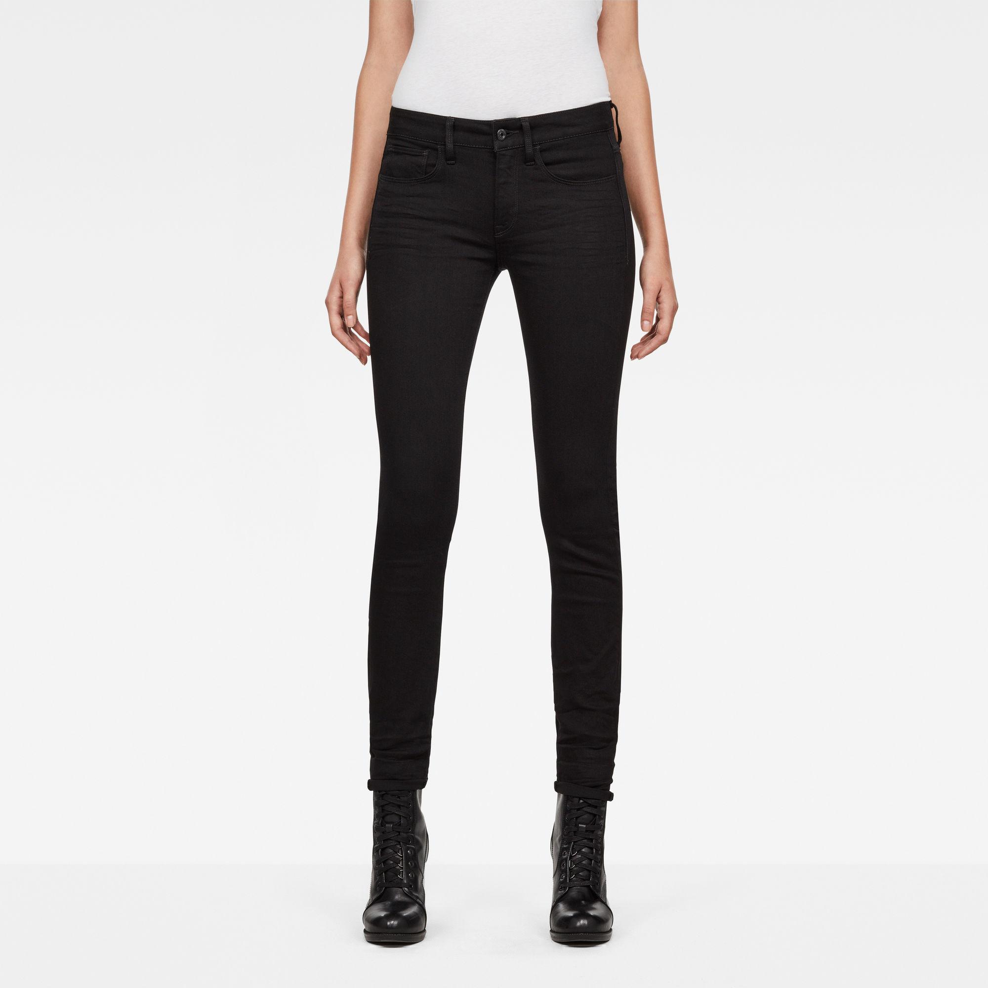 Imagem de 3301 Deconstructed Mid-Waist Skinny Jeans