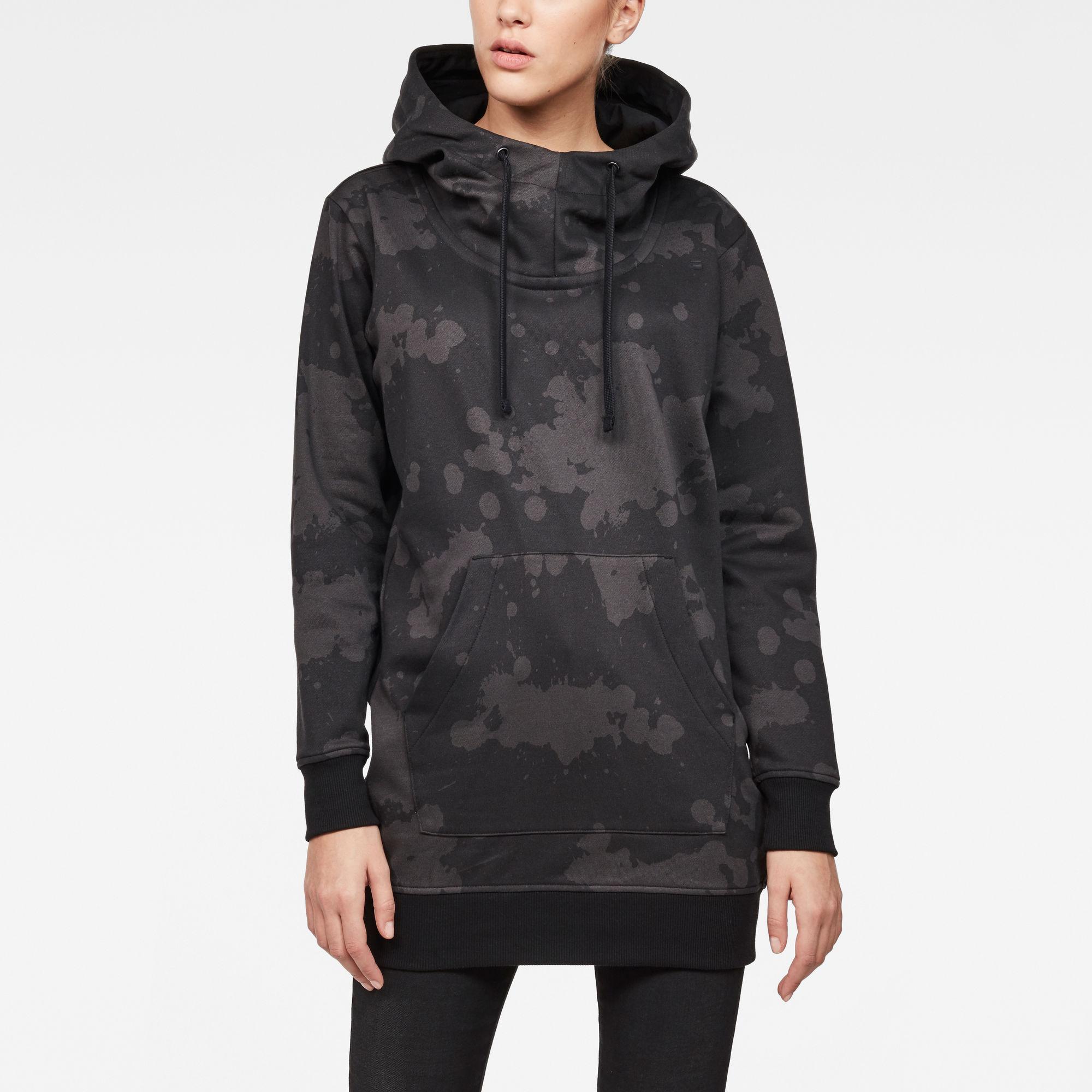 Reffit SC-1 Boyfriend Long Hooded Sweater