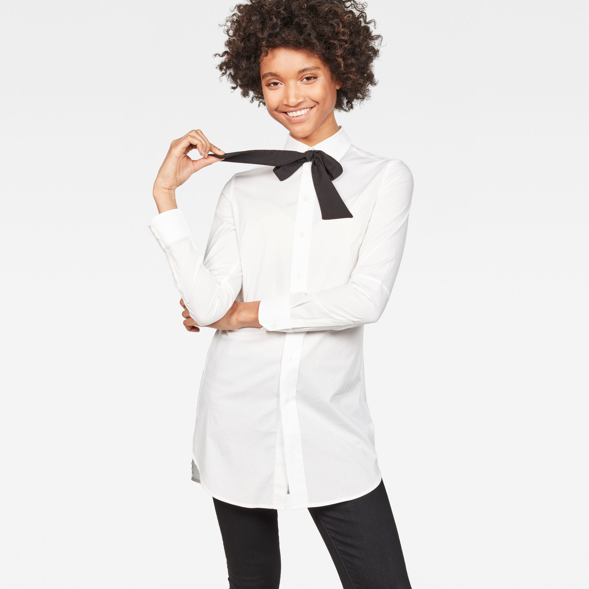 Core 3D Elongated Slim Shirt