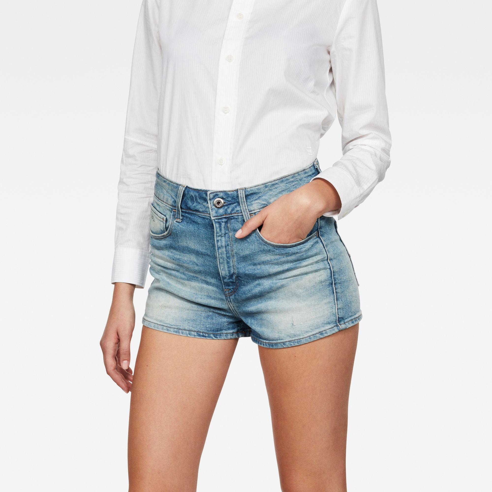 3301 Ultra High-Waist Shorts
