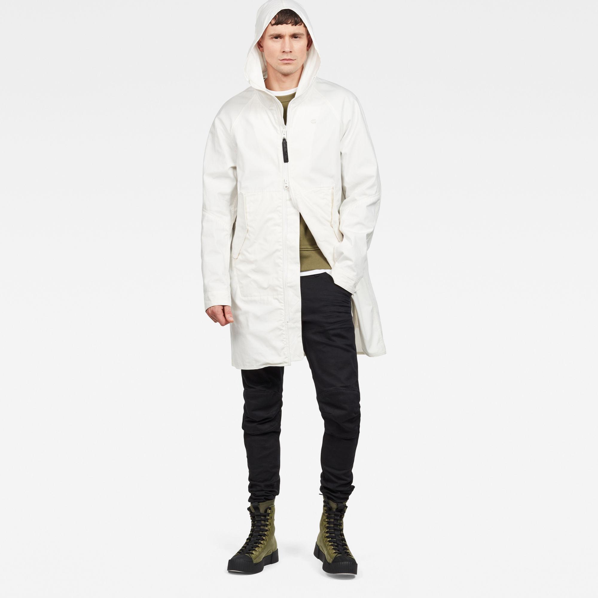 Strett Hooded Parka Overshirt