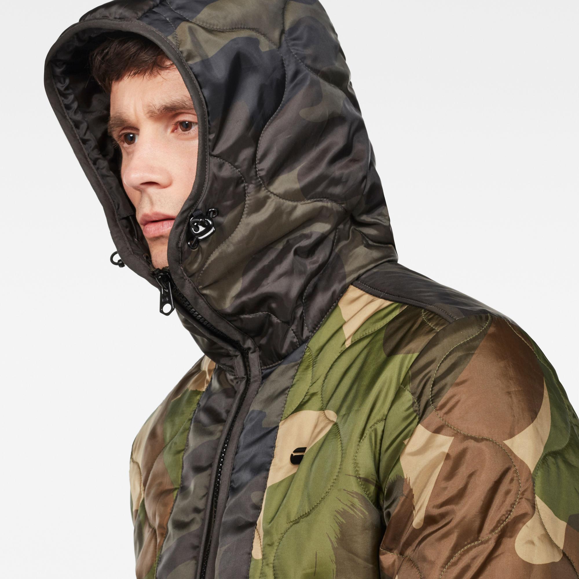 Edla Padded Hooded Overshirt
