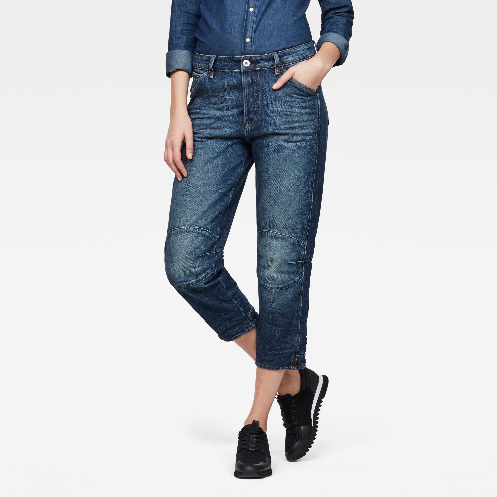G-Star Elwood 5622 3D High waist Boyfriend 7 8-Length Jeans