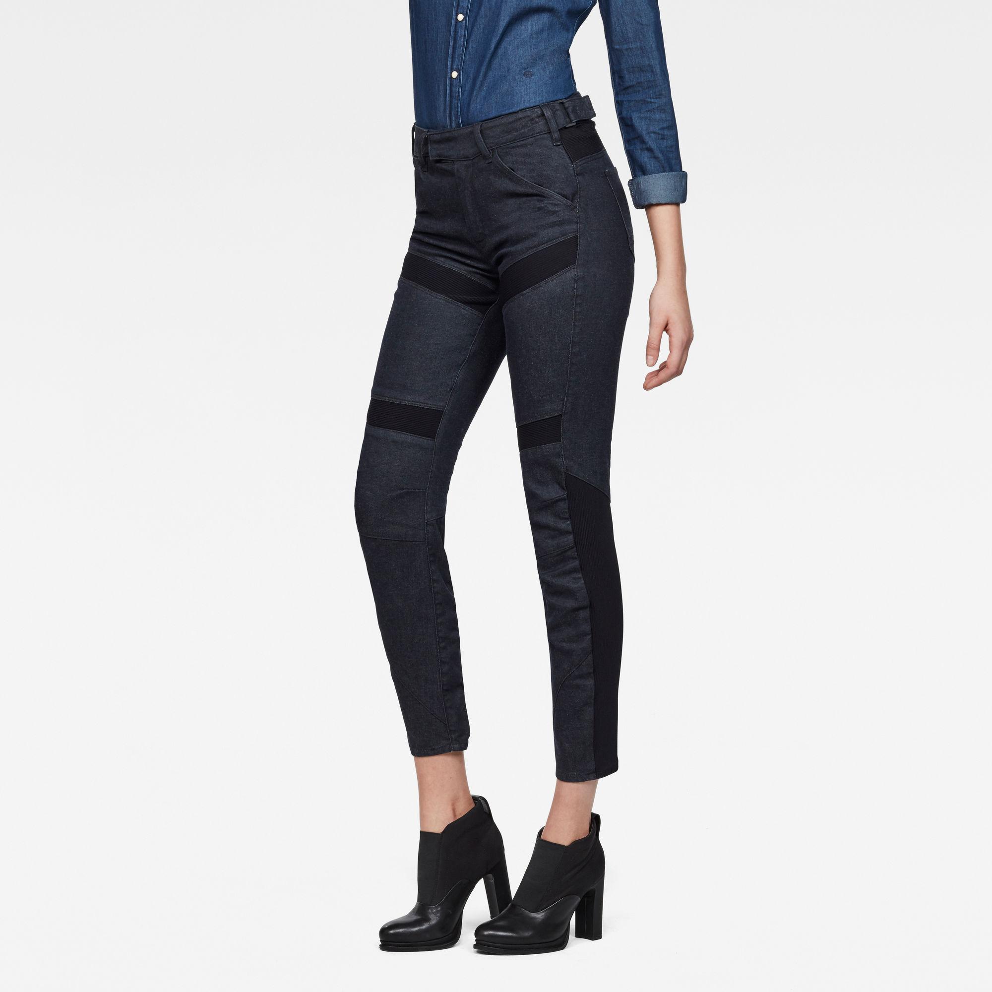 Raw Essentials Motac-X 3D High waist Skinny Ankle Jeans