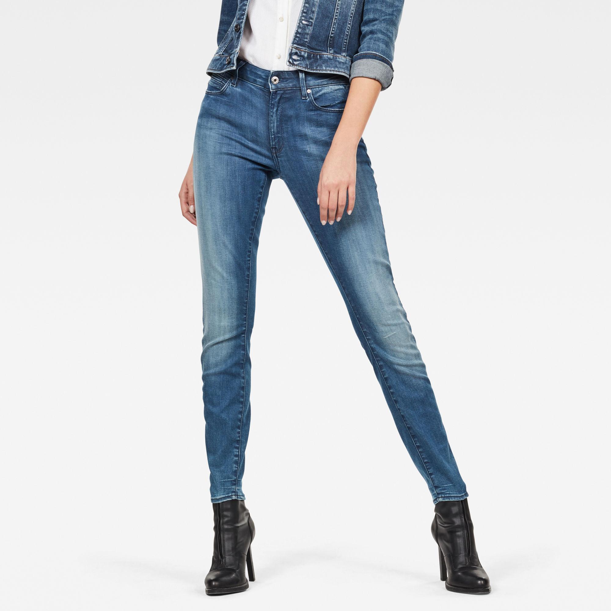 G-Star Shape High Super Skinny Jeans