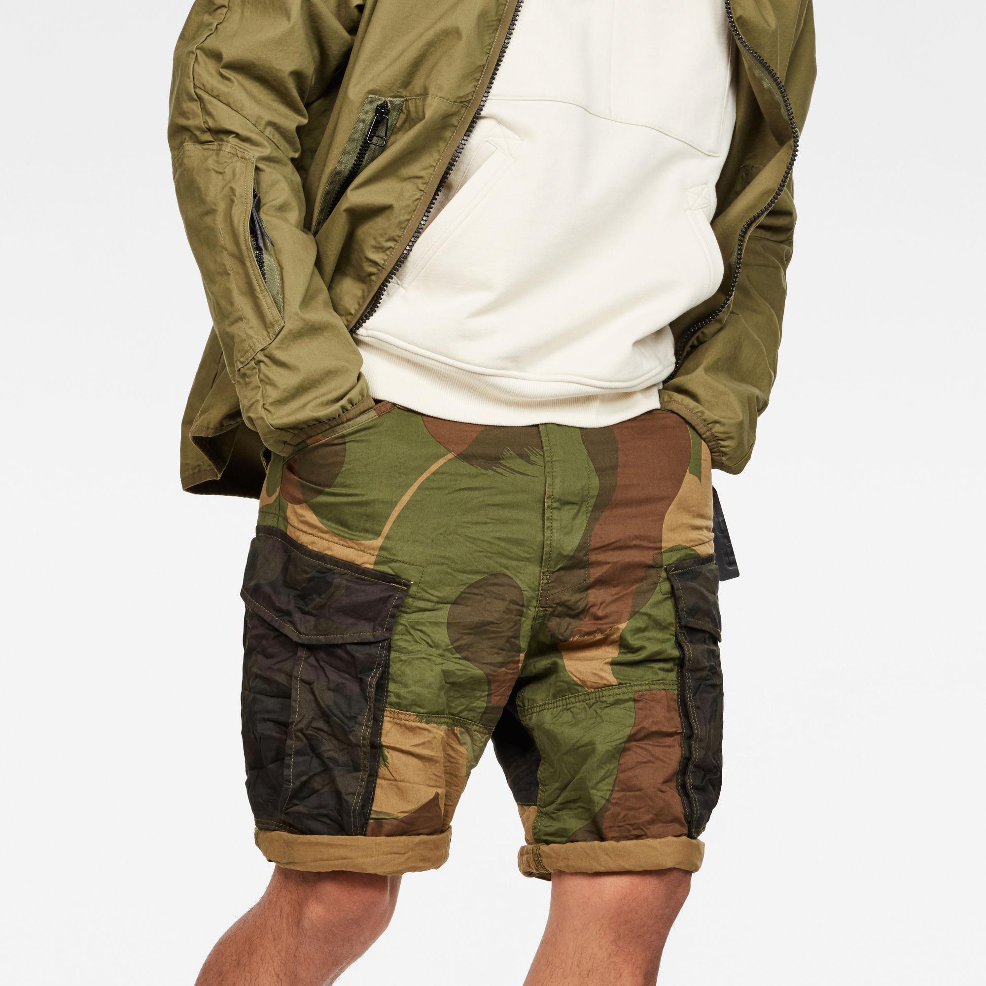 Rovic Mix Loose Shorts