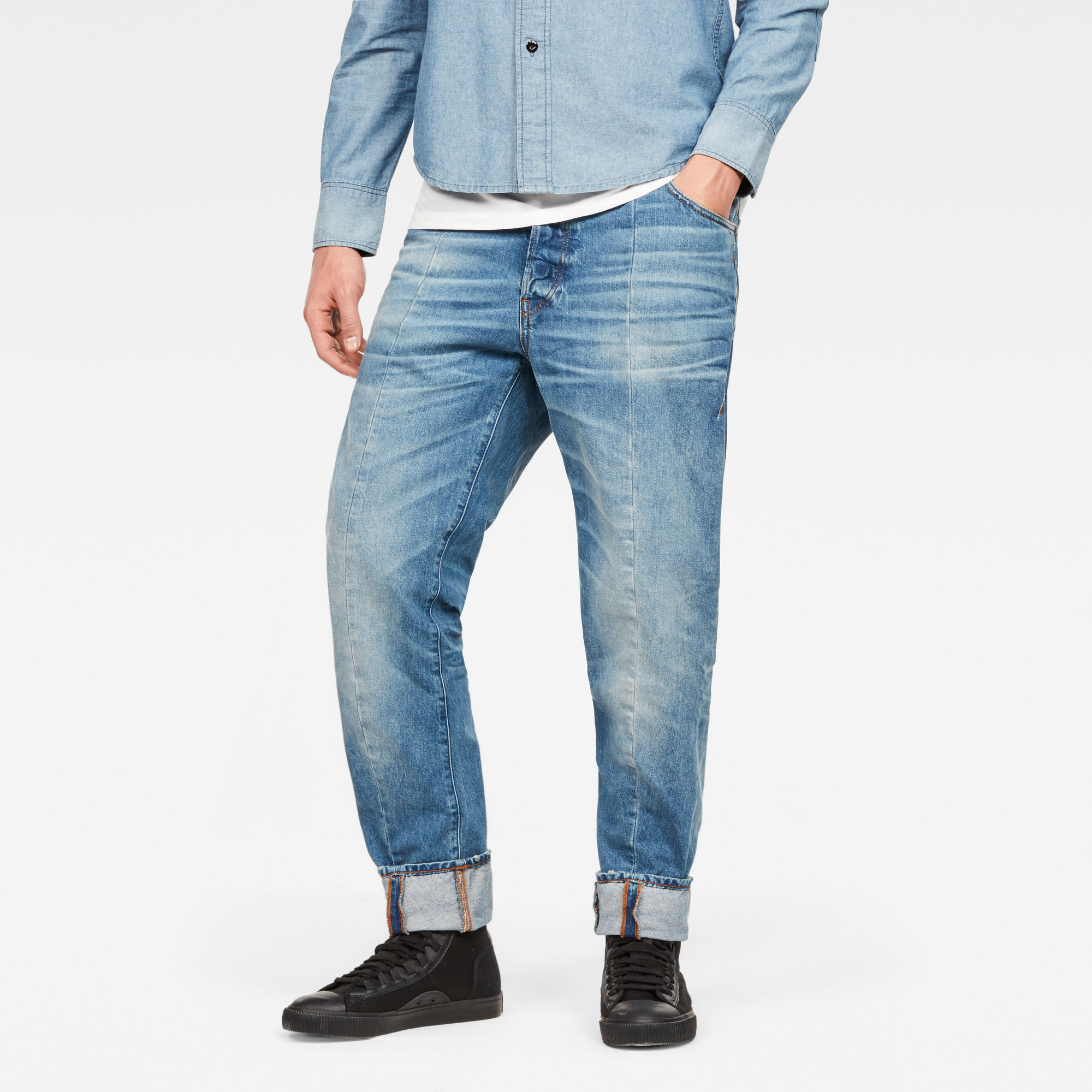 Image of G Star Raw Lanc 3D Tapered Jeans