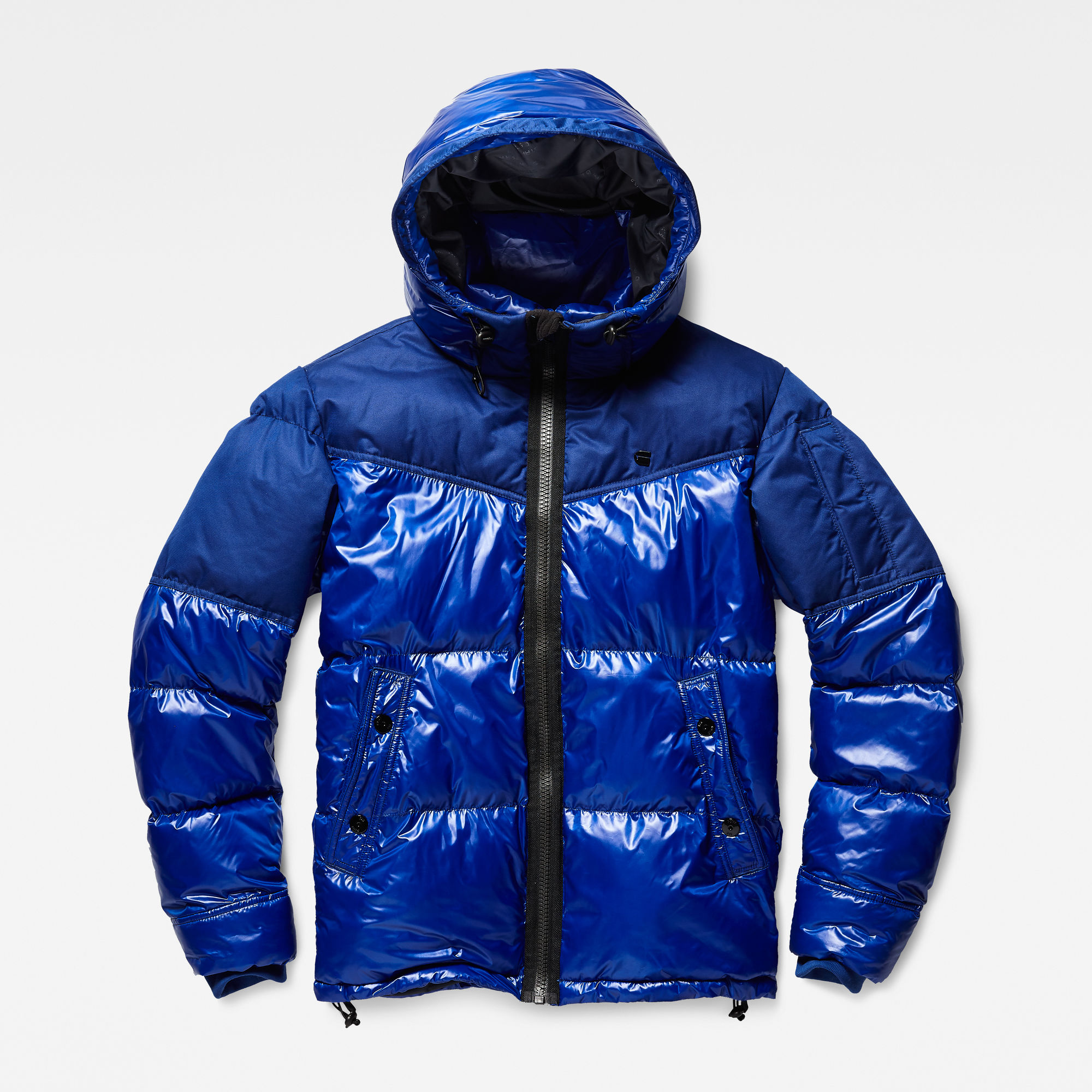 Image of G Star Raw Whistler Hooded Quilted Jacket