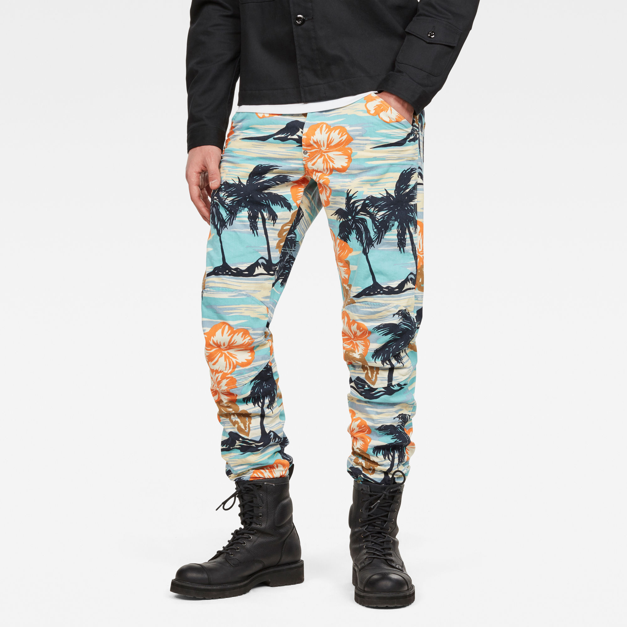 Image of G Star Raw 5622 3D Tapered Color Jeans