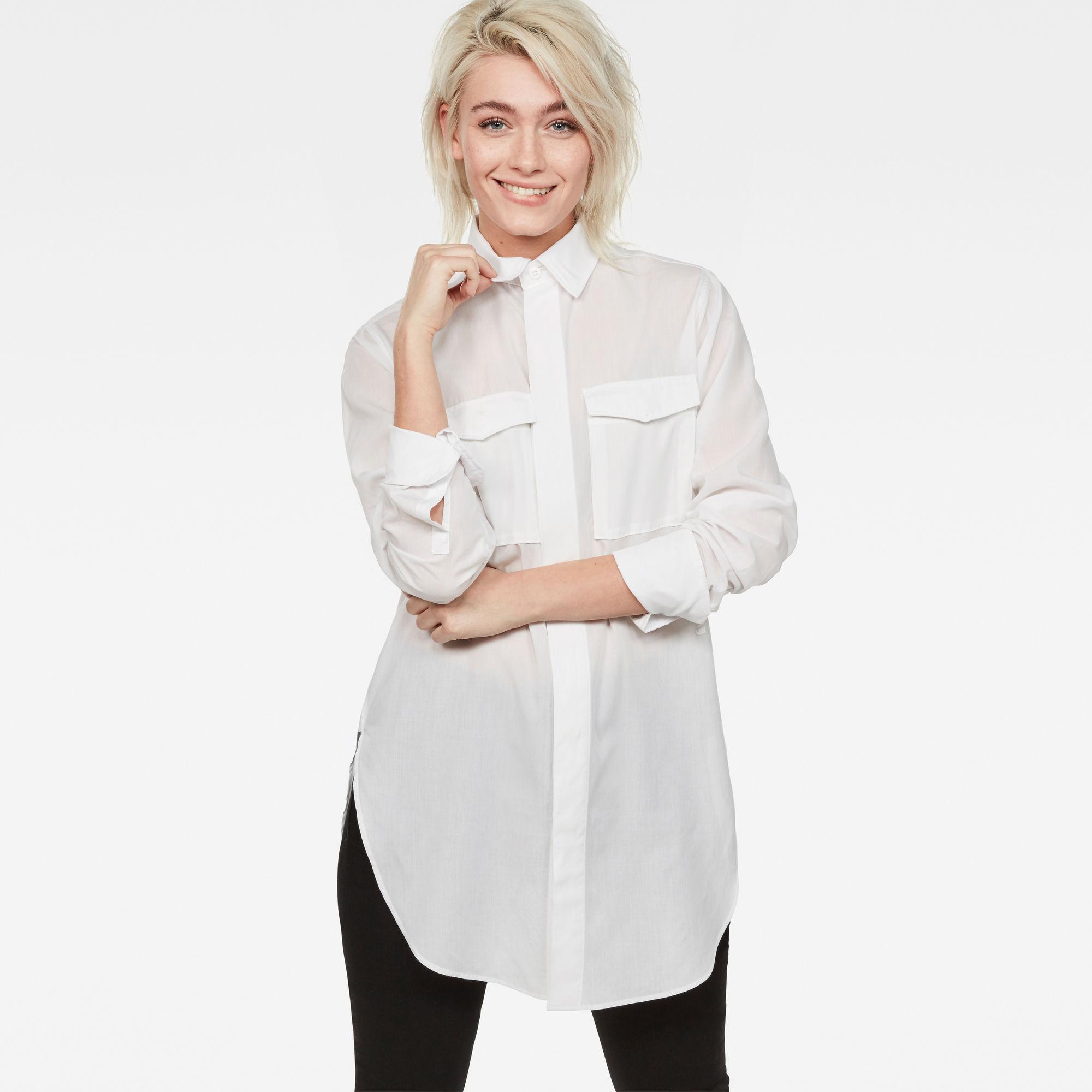 H-A 2-Pocket Elongated Shirt