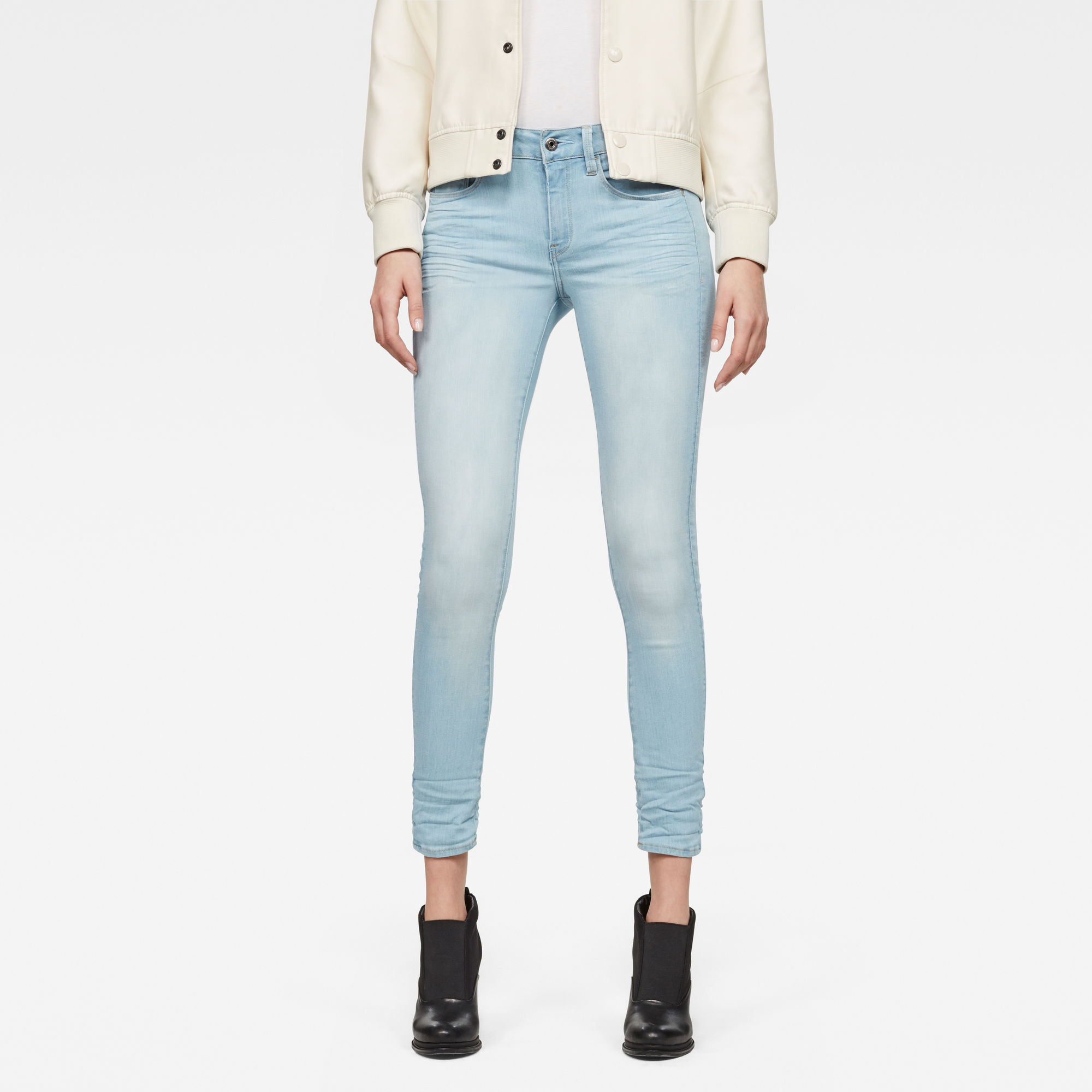 3301 D-Mid Skinny Ankle Jeans