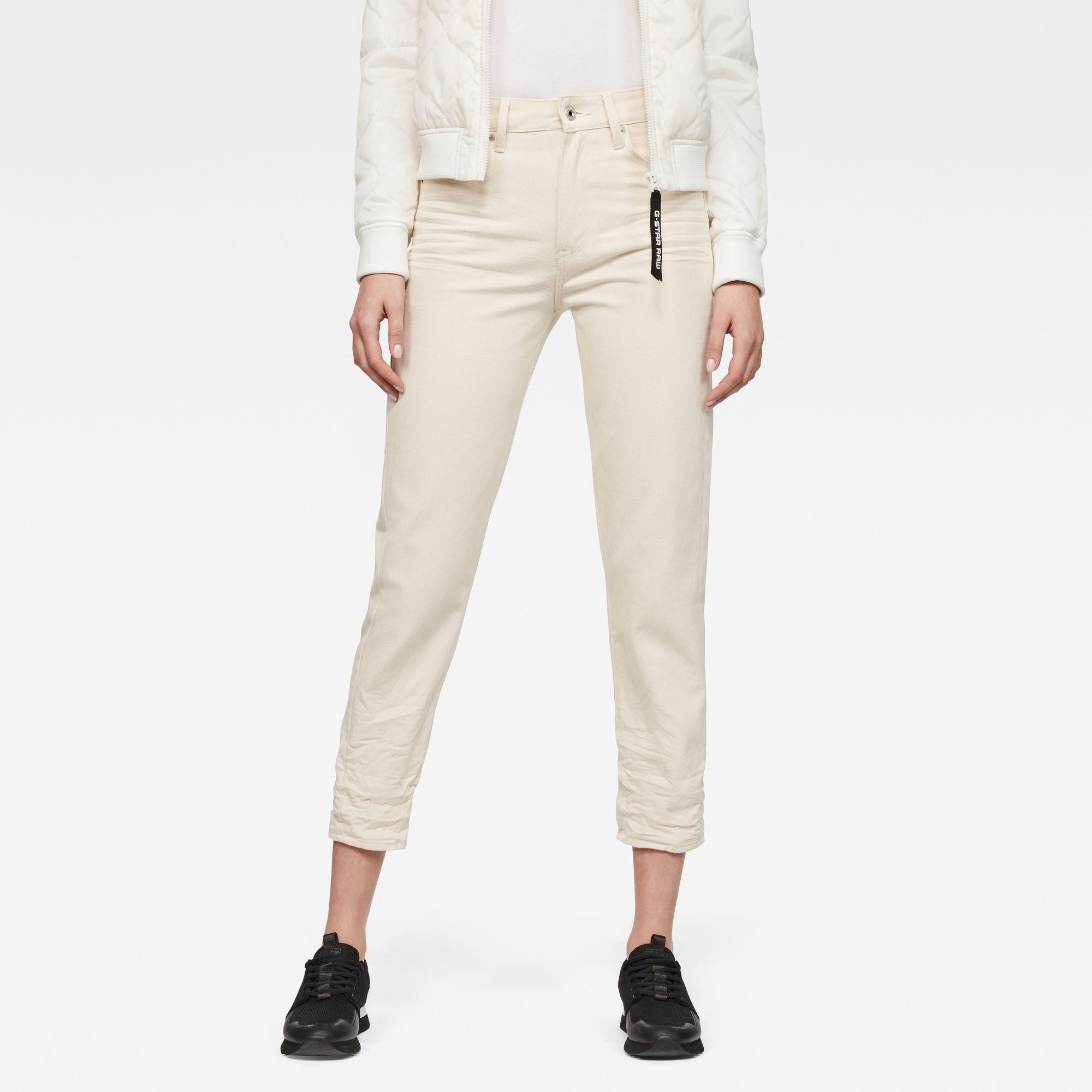 3301 Ultra High waist Straight 7 8-Length Jeans