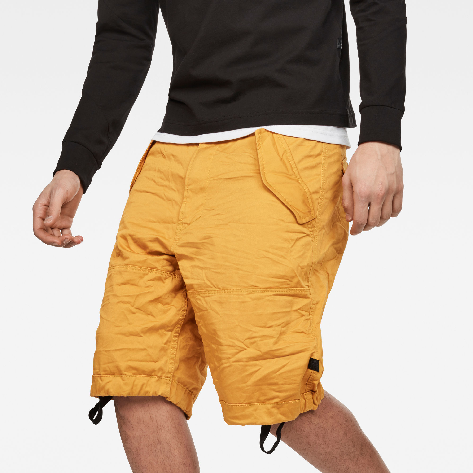 Rovic Deconstructed Loose 1 2-Length Shorts