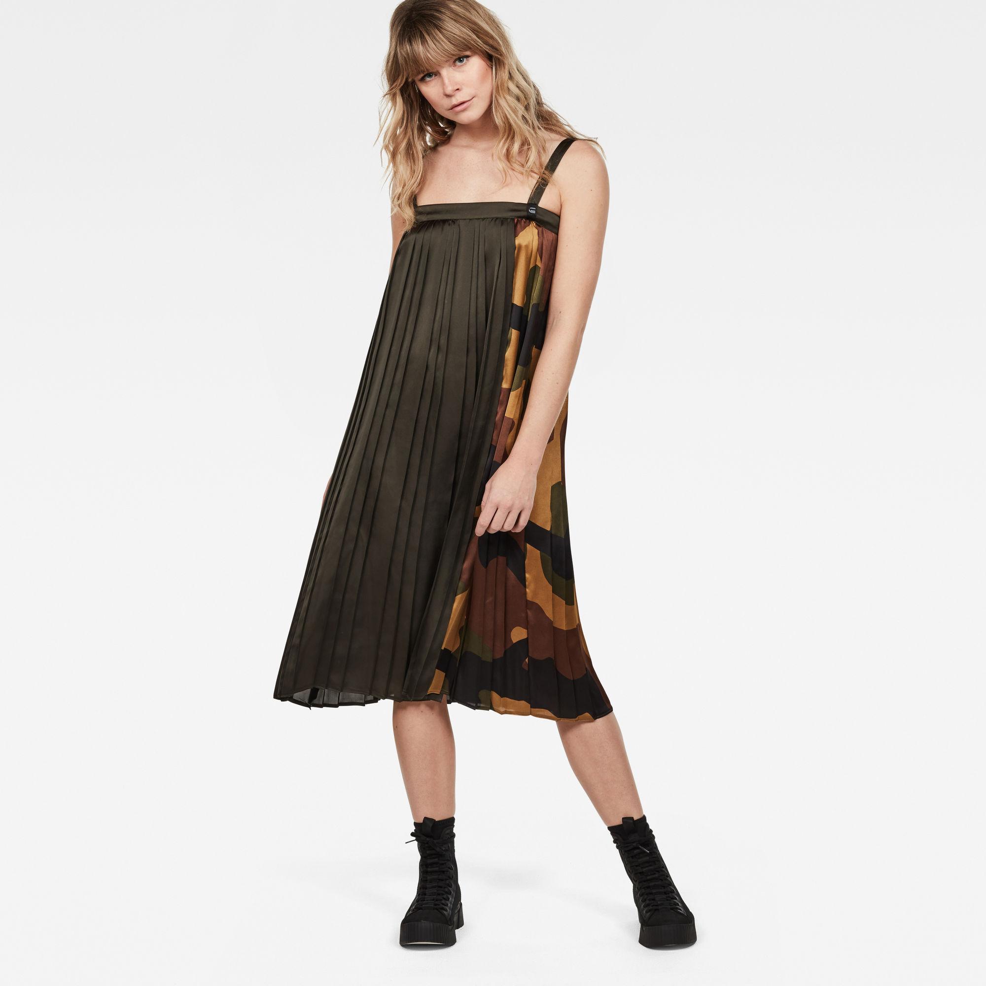 G-Star Plisse Dress Sleeveless
