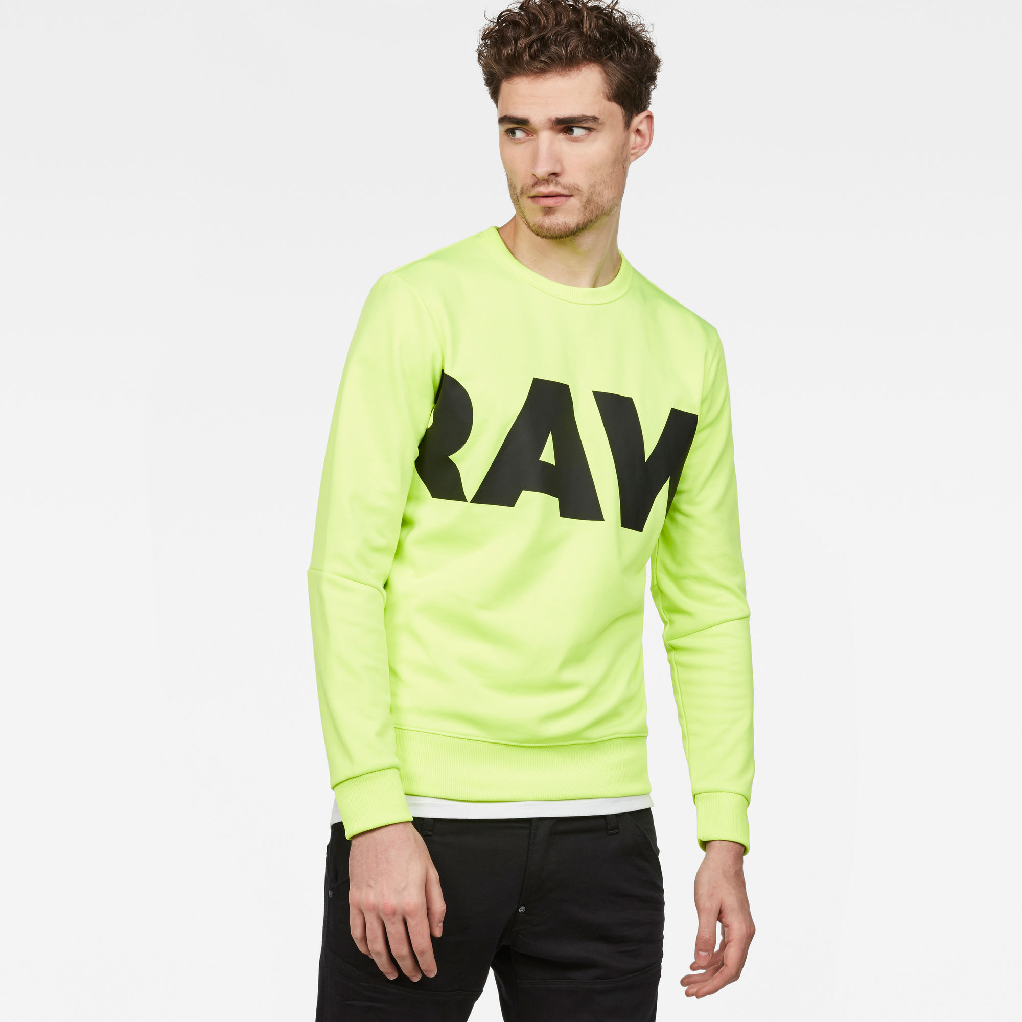 Image of G Star Raw Vilsi Stalt Deconstructed Slim Sweater