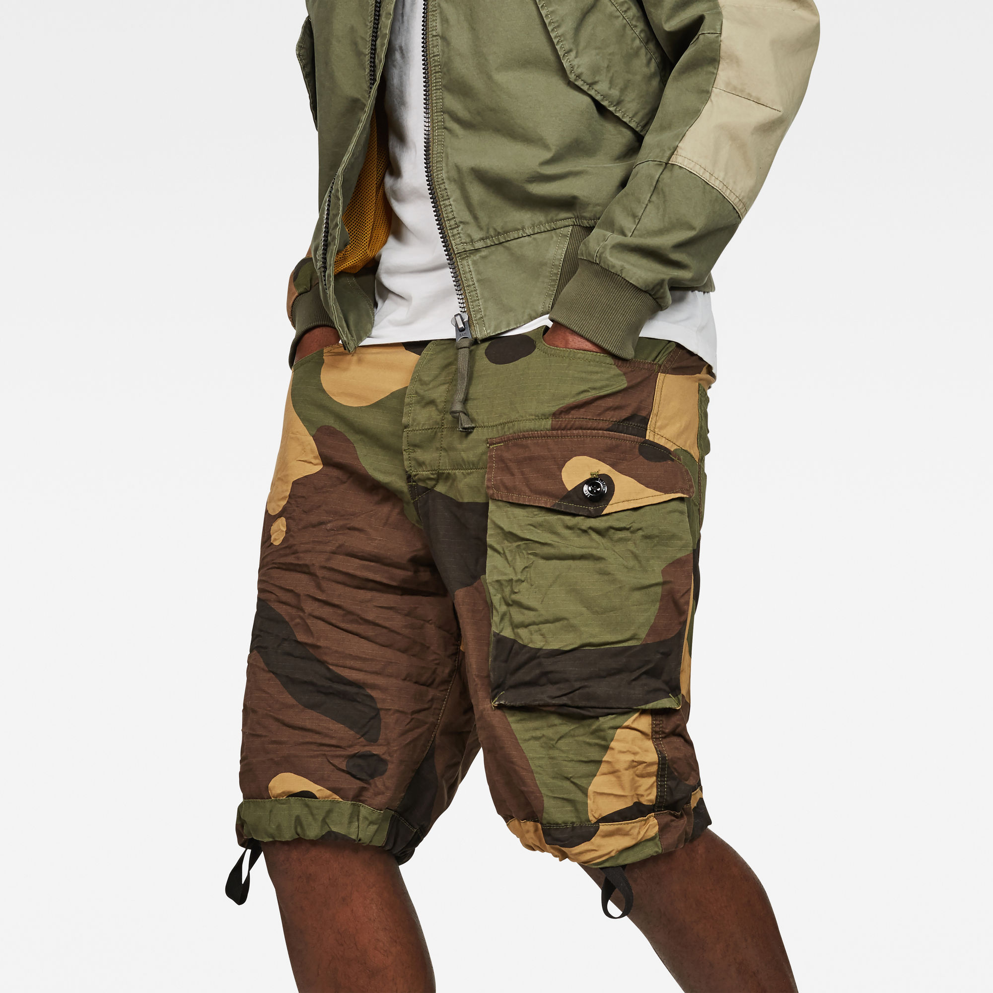 Tendric Deconstructed Loose 1 2-Length Shorts