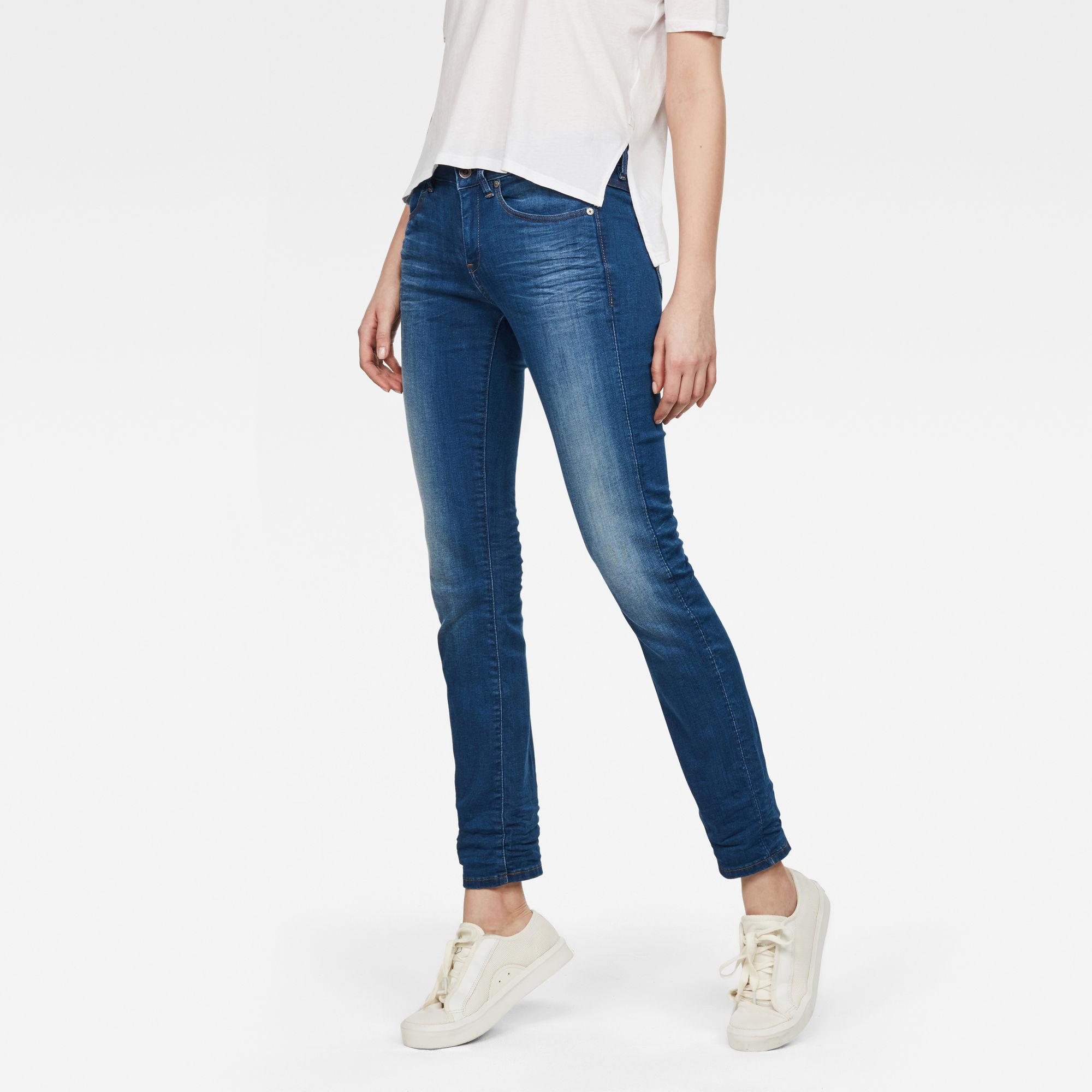 Midge Mid waist Straight Jeans Jeans maat 26-32 van G-Star RAW snel en voordelig in huis? Hier lukt het direct