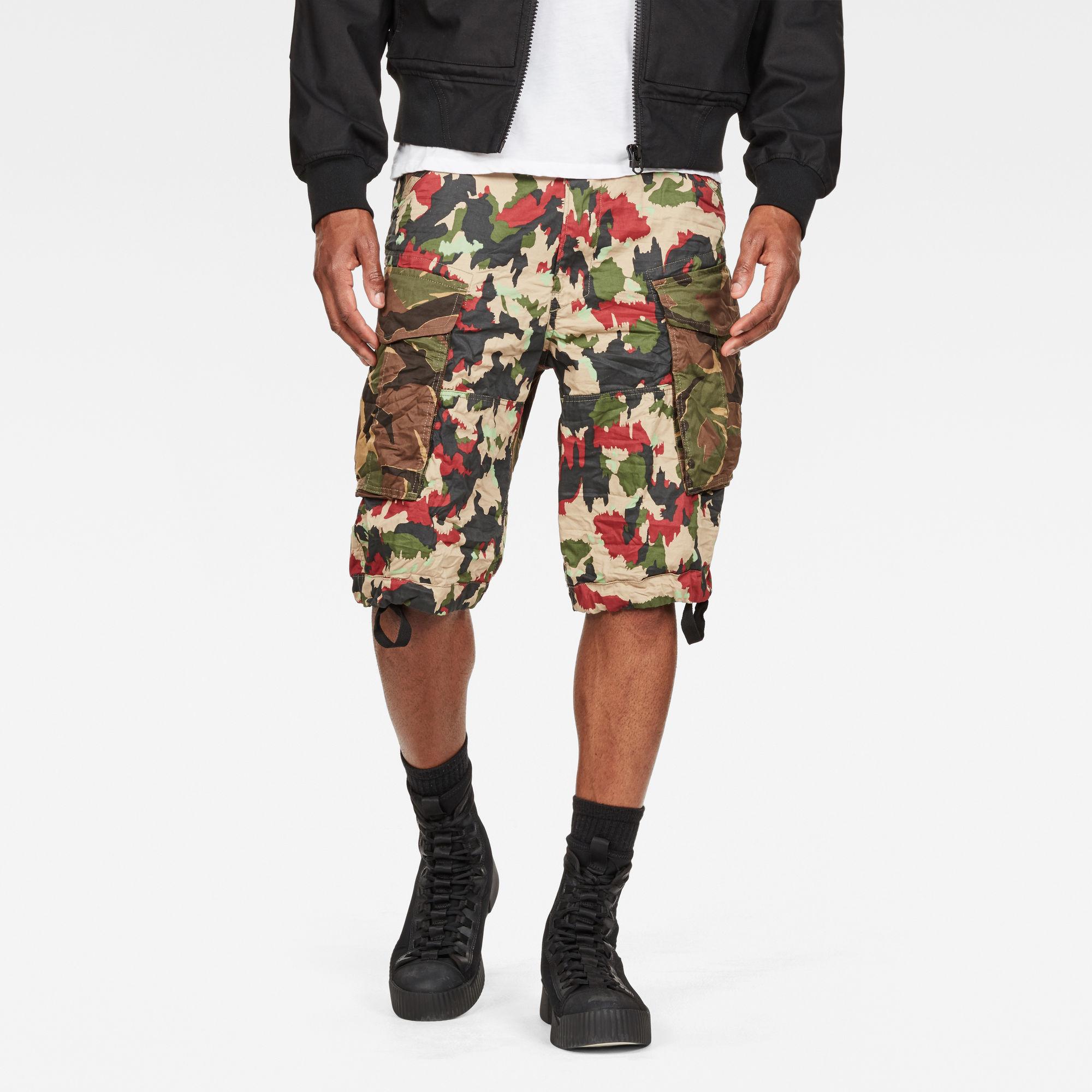 Rovic Raw Correct Relaxed 1 2-Length Shorts