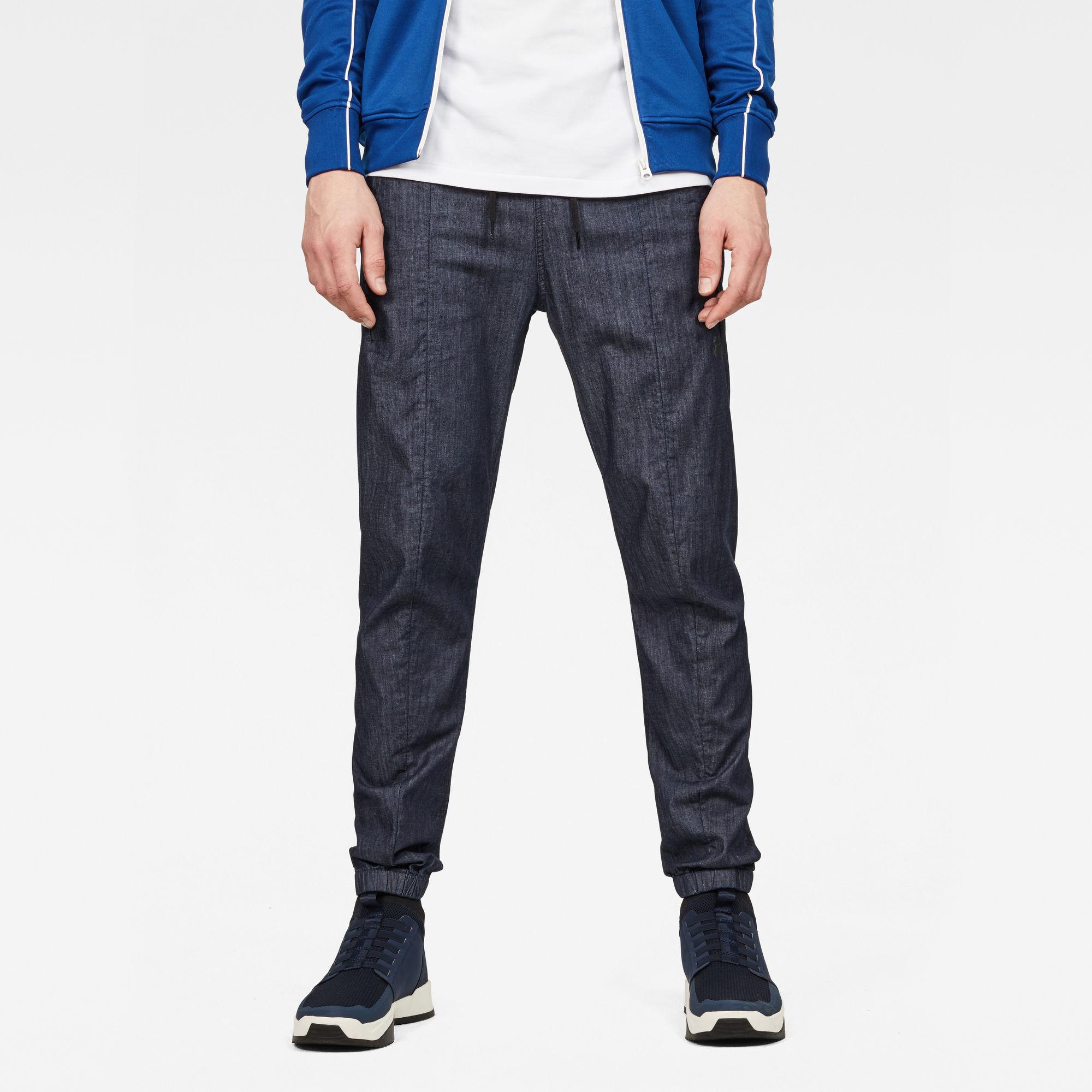Image of G Star Raw Lanc Straight Cuffed Jeans