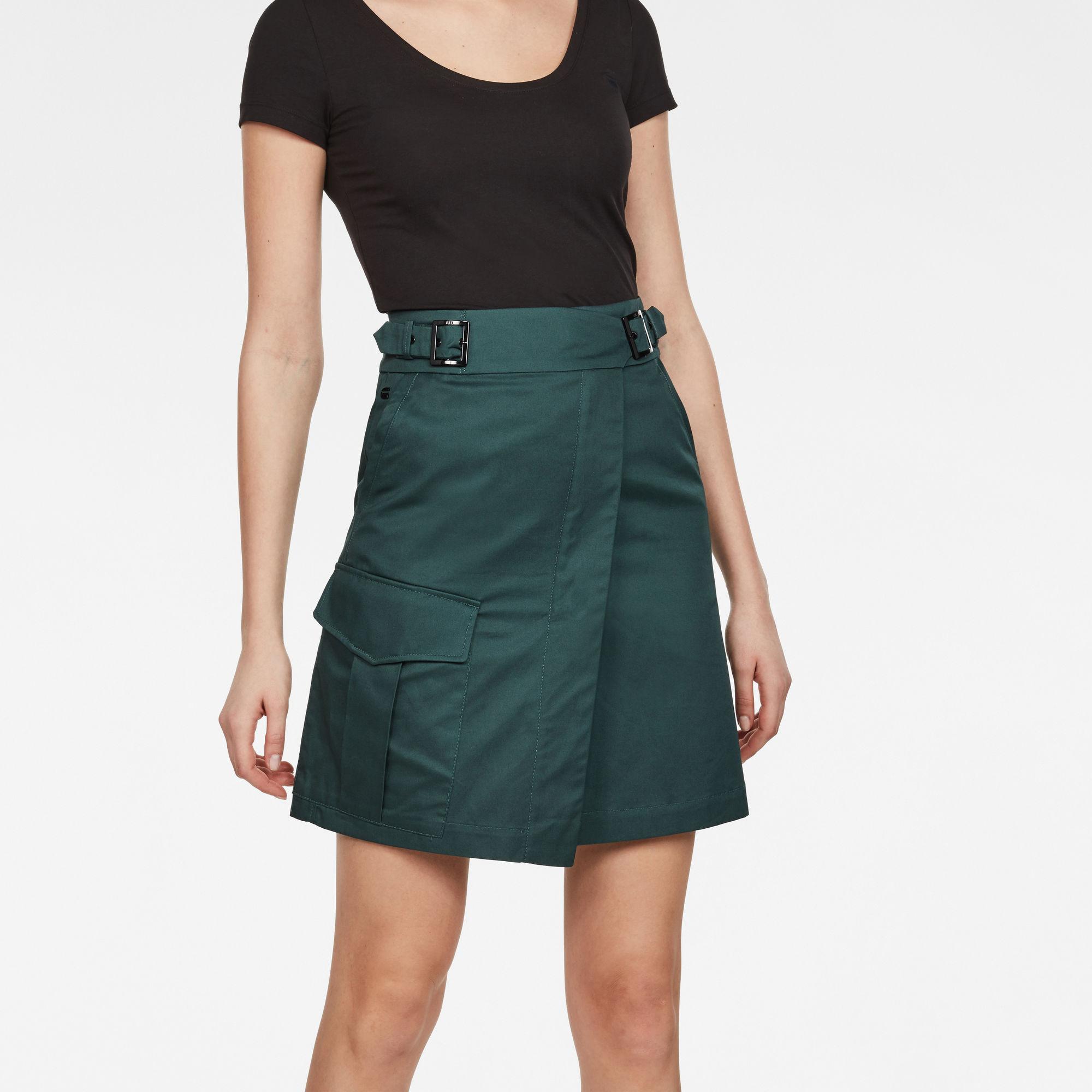 Image of G Star Raw Bristum Army Wrap Skirt