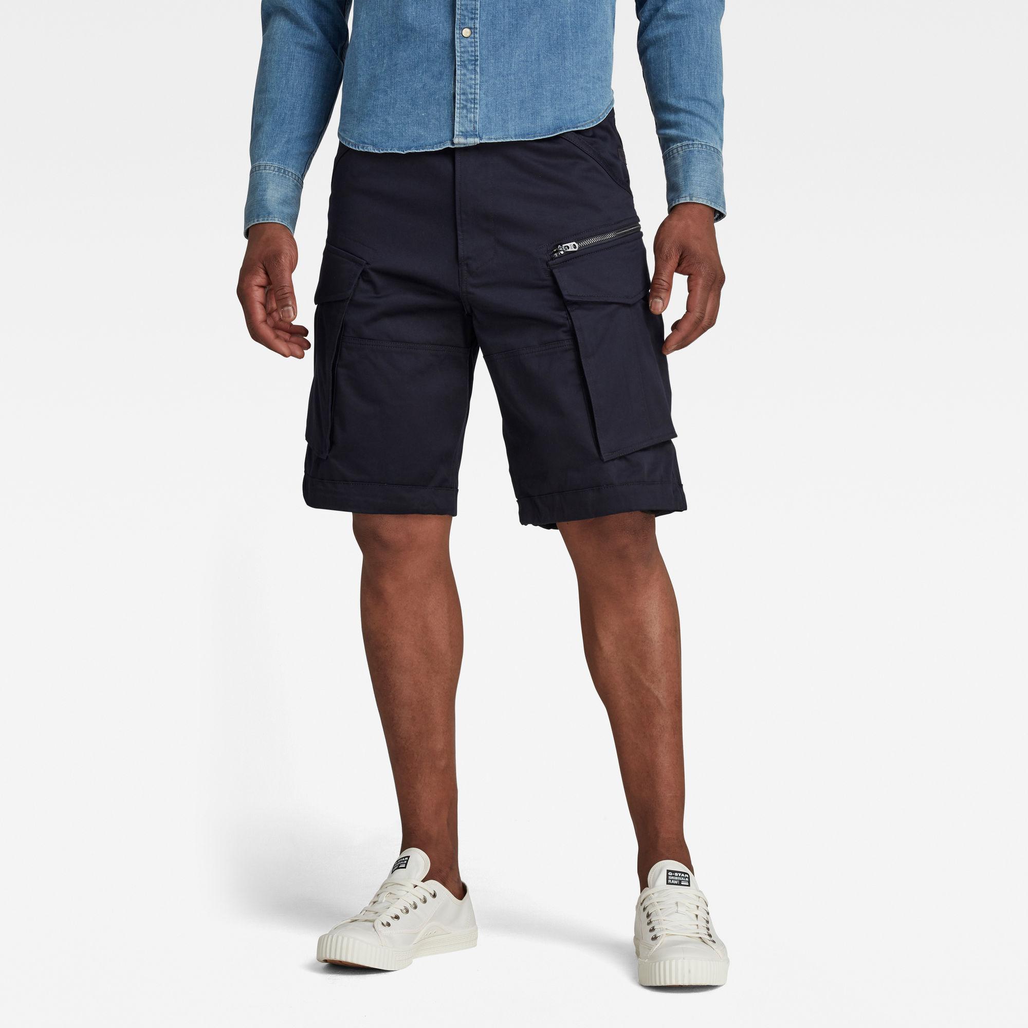 Rovic Zip Loose 1 2-Length Shorts