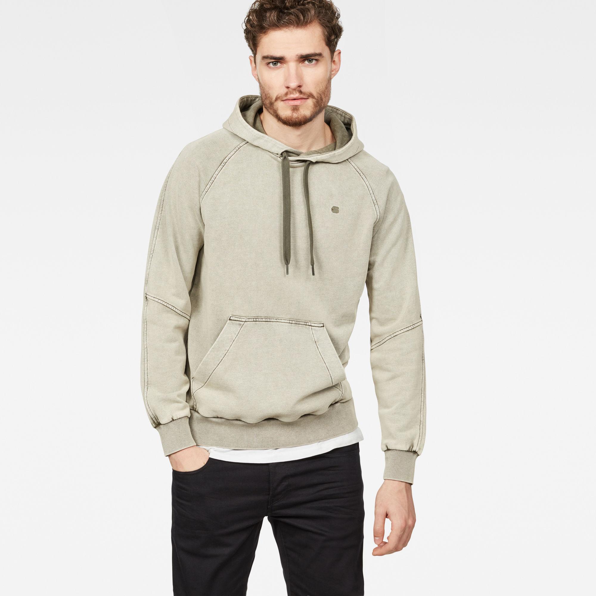 Lyl Strett Deconstructed Hooded Sweater