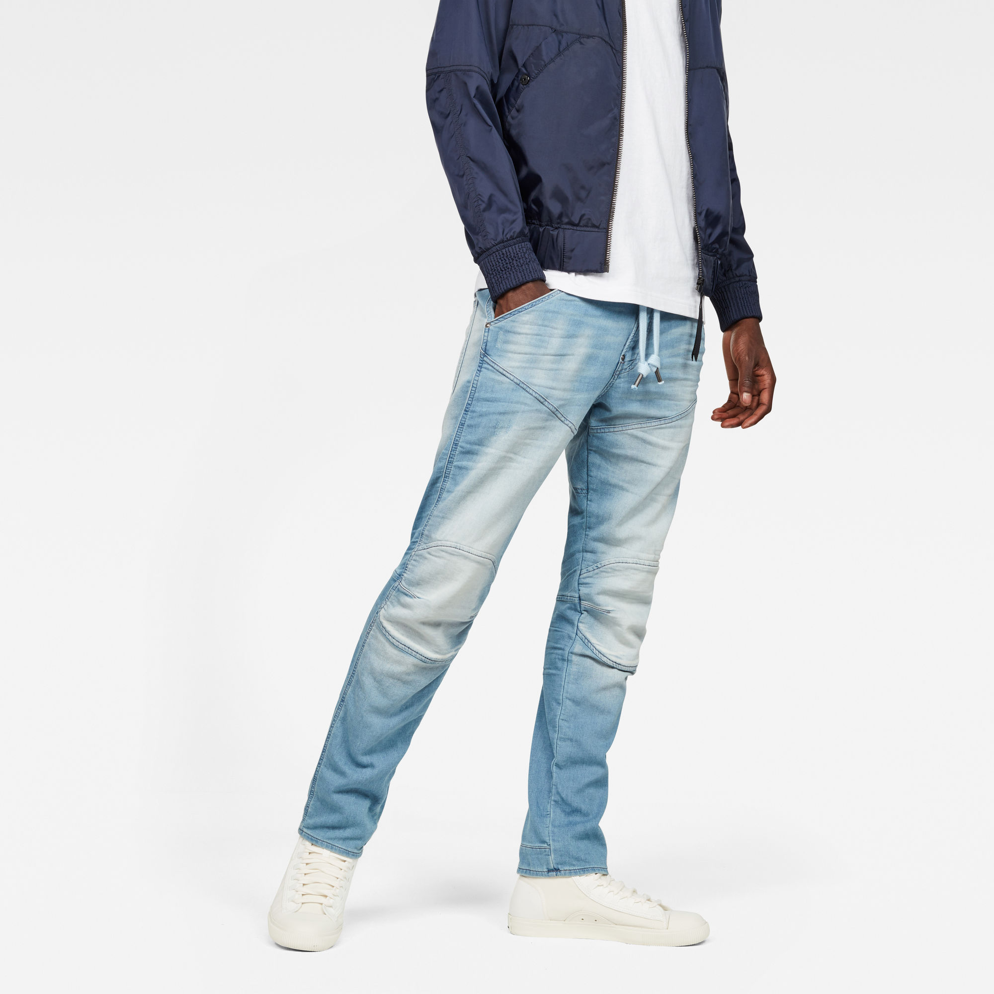 Image of G Star Raw 5620 G-Star Elwood 3D Sport Tapered Jeans