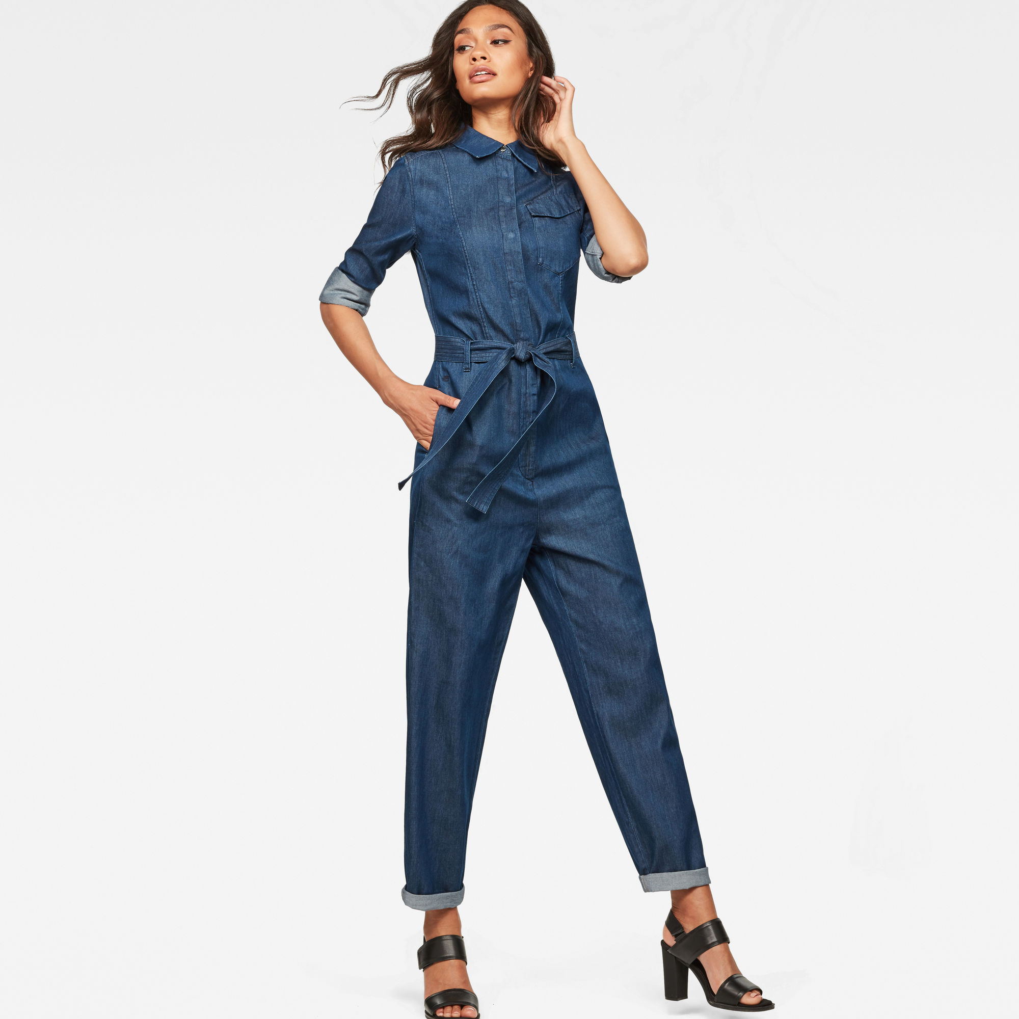 Image of G Star Raw Tacoma Jumpsuit