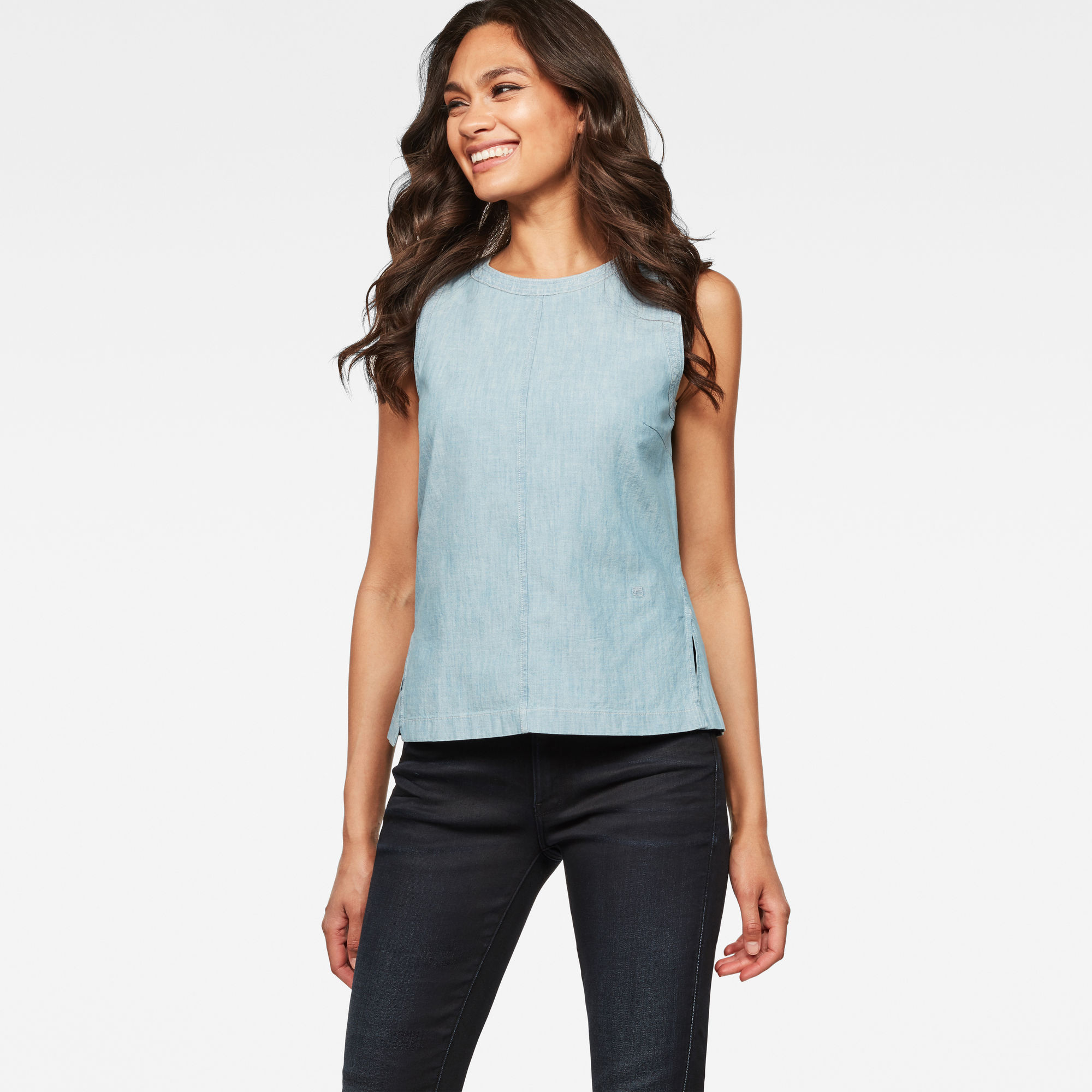 Image of G Star Raw Deline Sleeveless Top